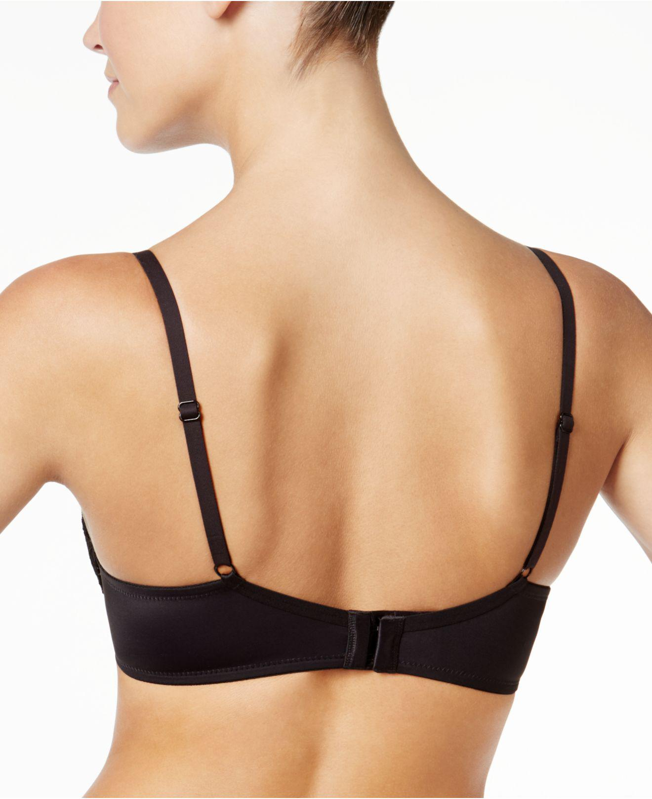 2975bee262f38 Lyst - Maidenform Love The Lift Plunge Push Up And In Underwire Bra Dm9900  in Black