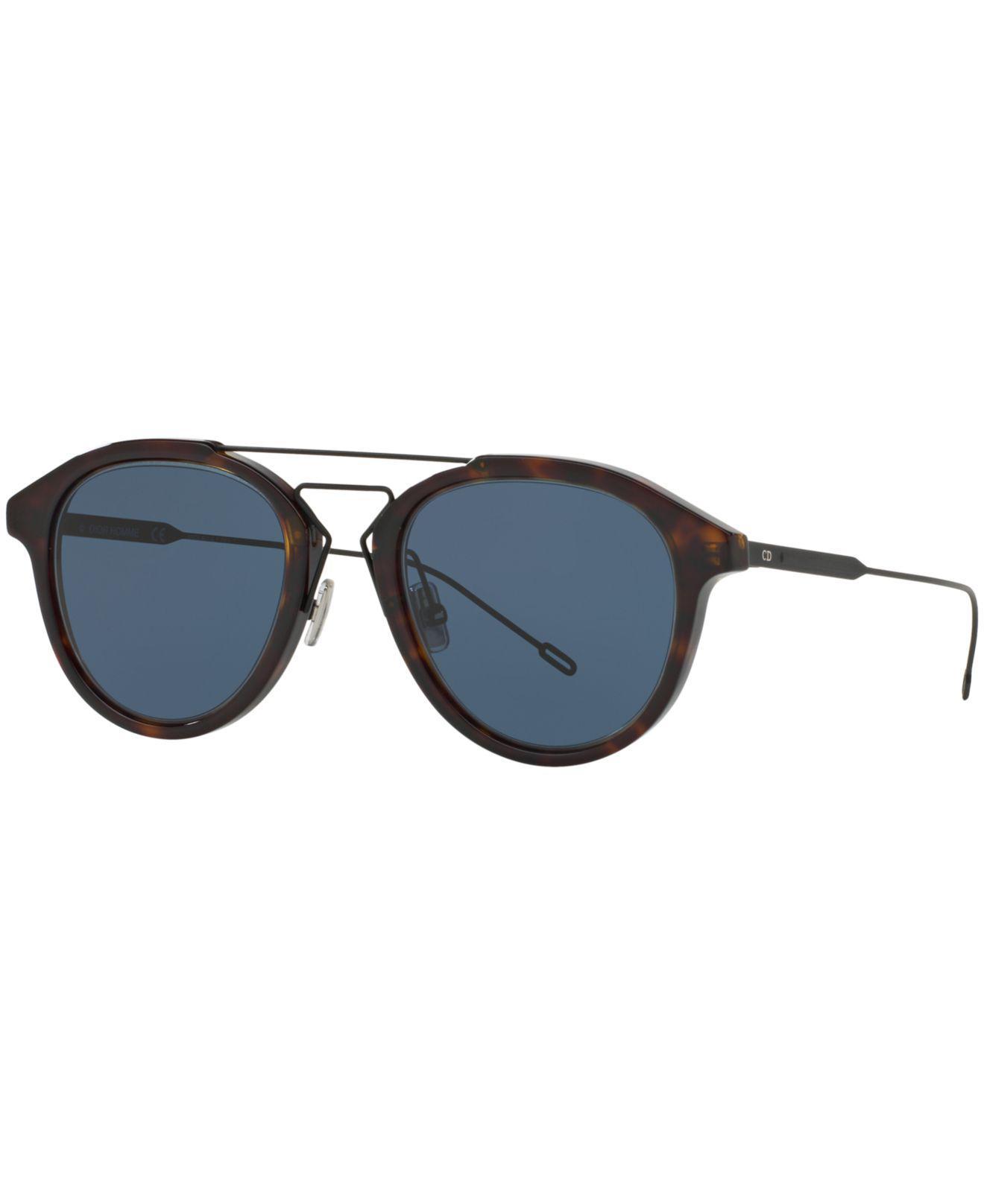 dc5c91cdff Dior. Men s Blue Homme Sunglasses ...