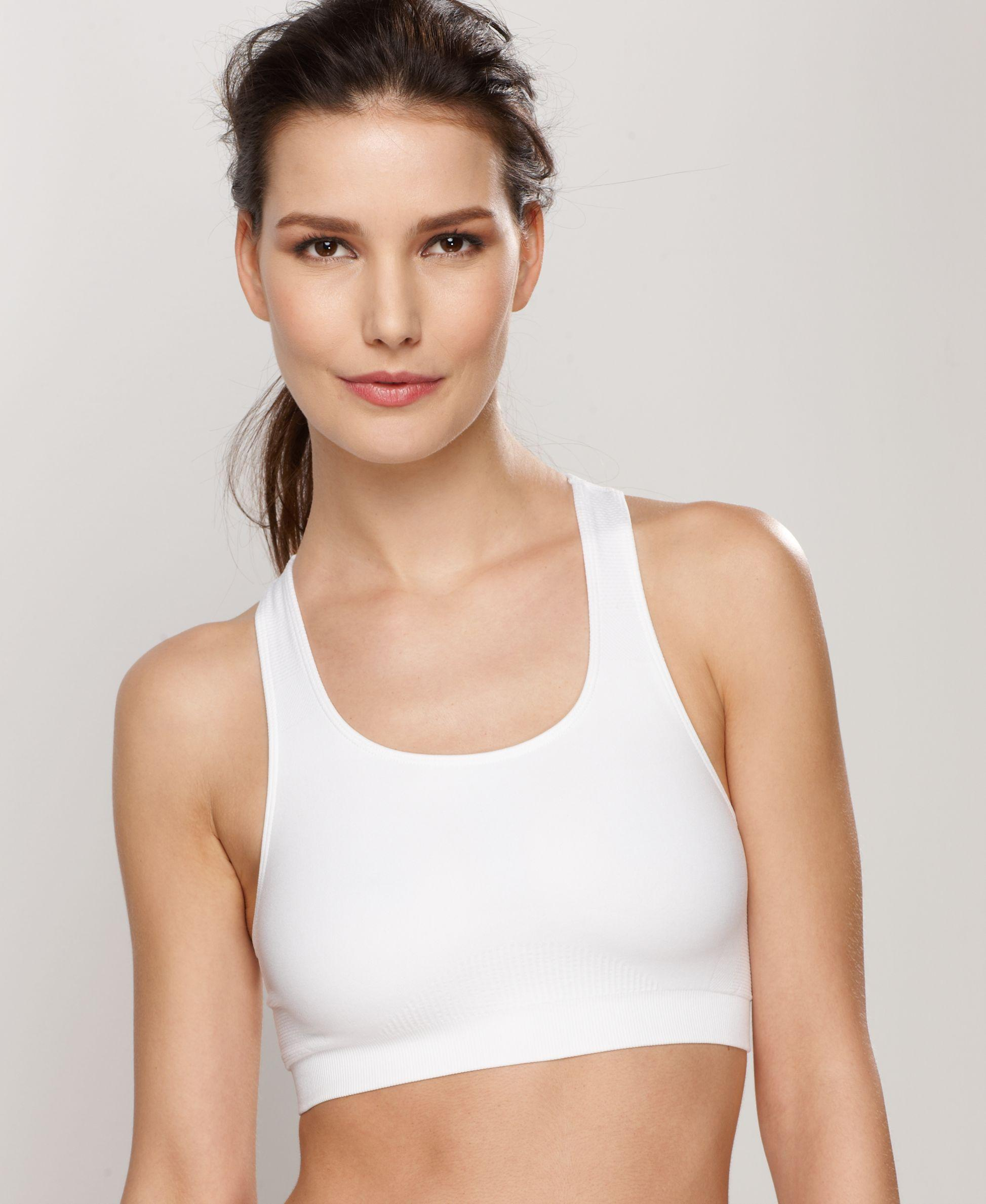 Wacoal Low-impact Seamless Wireless Sports Bra 852243 in White | Lyst