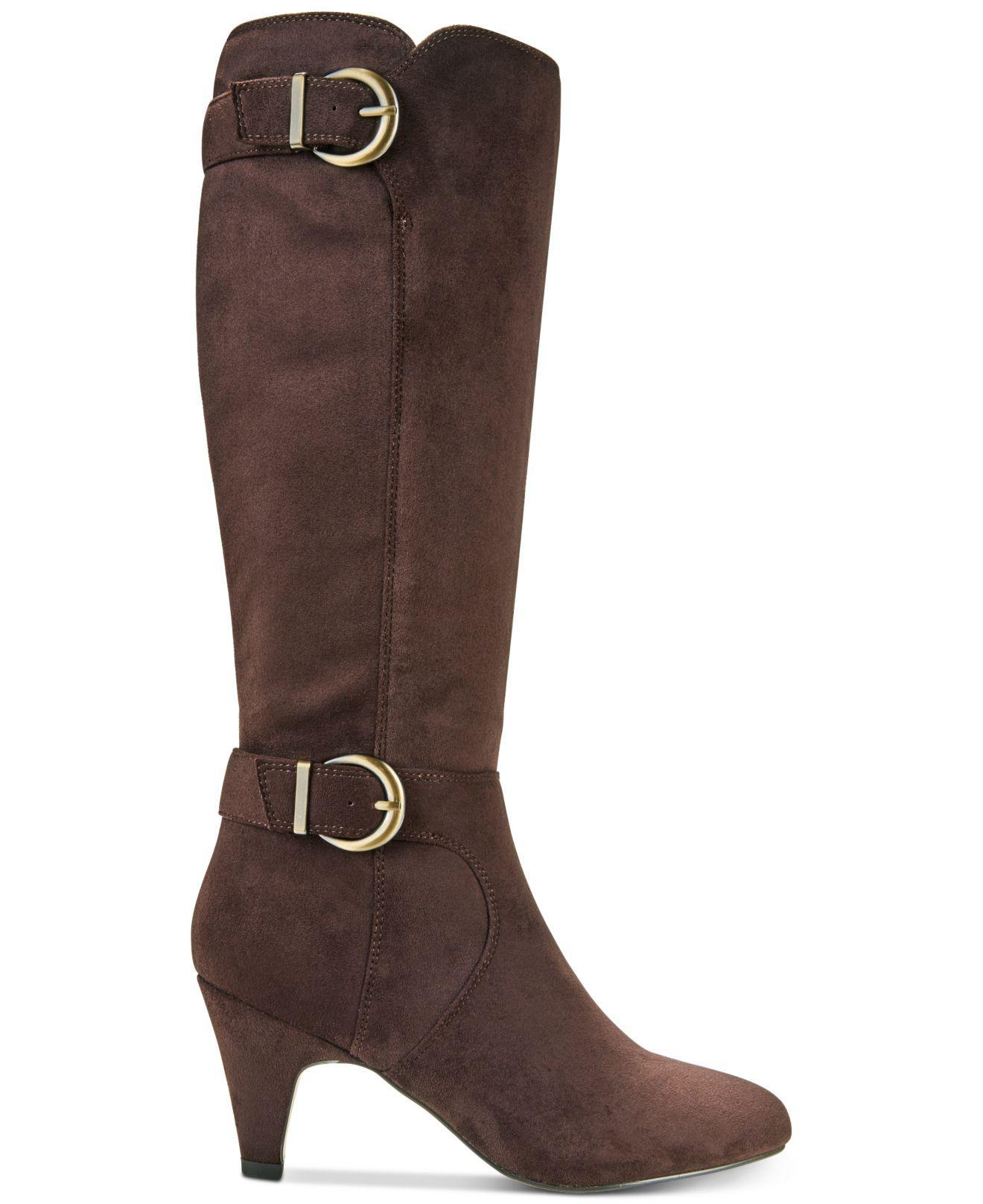 dab59fbbf53 Bella Vita Toni Ii Wide-calf Boots in Brown - Lyst