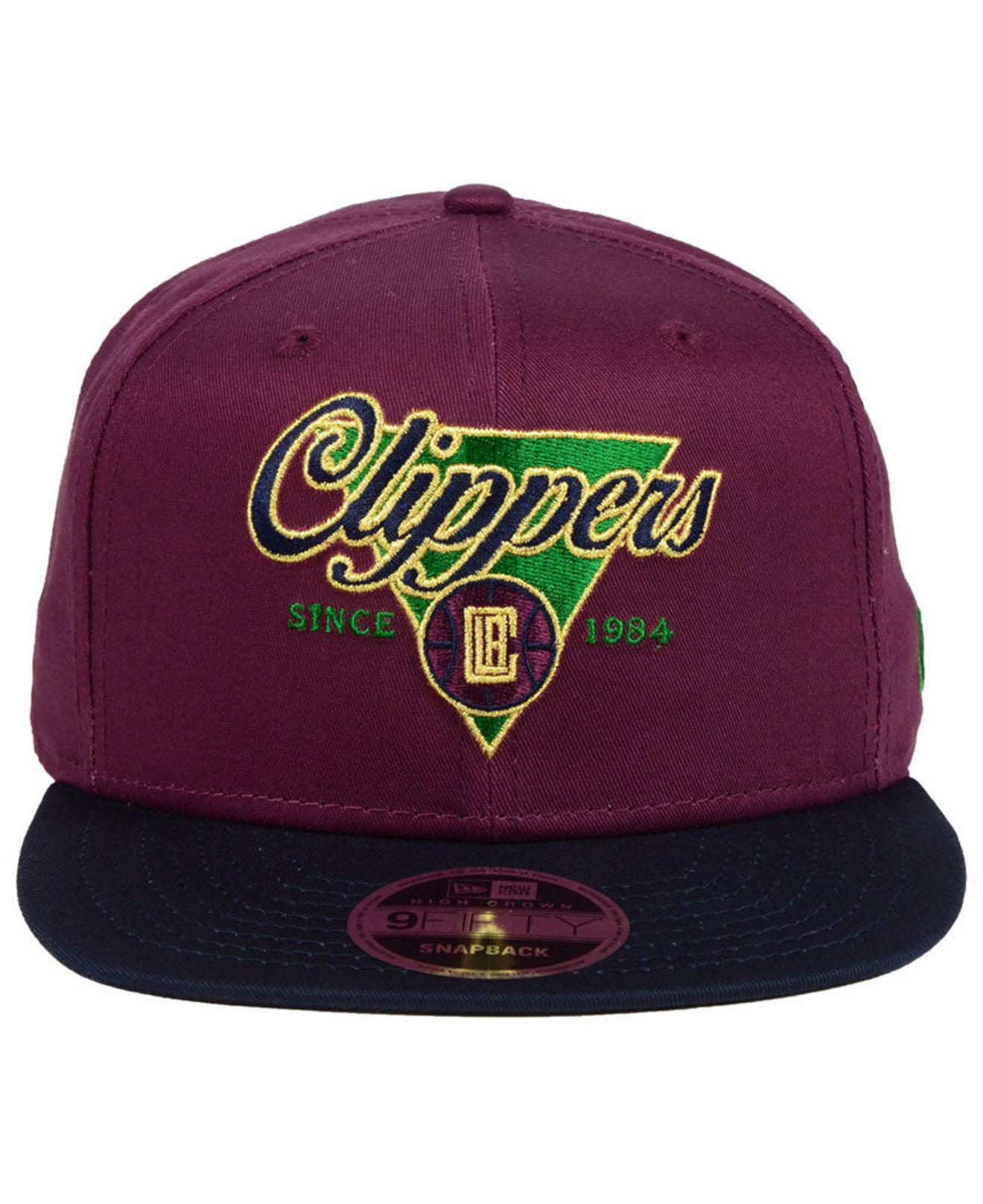 size 40 ce2a8 be023 Lyst - KTZ Cleveland Cavaliers 90s Throwback 9fifty Snapback Cap in Purple  for Men