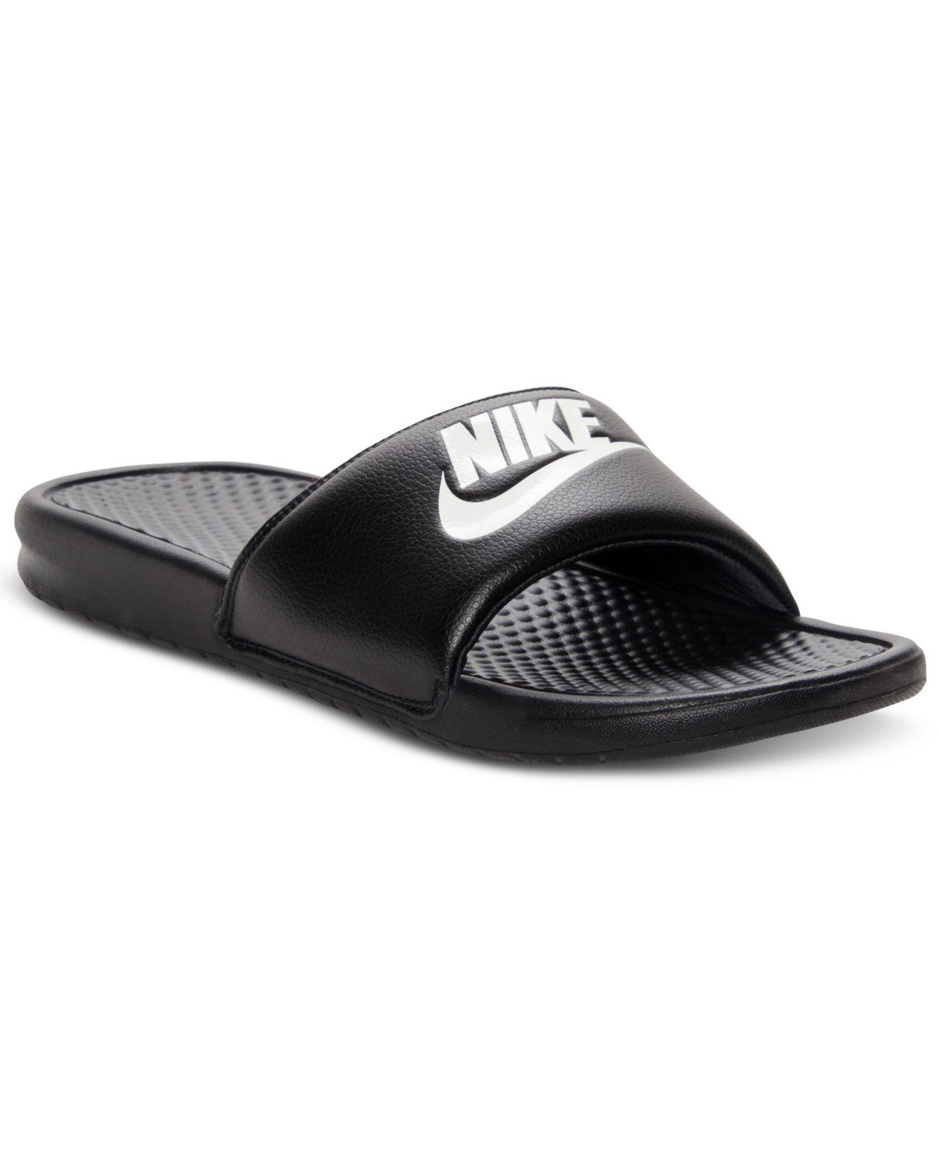 a39c53cae81b Lyst - Nike Men s Benassi Just Do It Slide Sandals From Finish Line ...