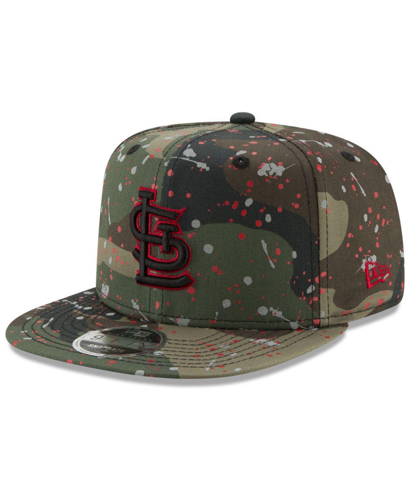 Lyst - Ktz St. Louis Cardinals Camo Spec 9fifty Snapback Cap in ... 062f1d9661a2