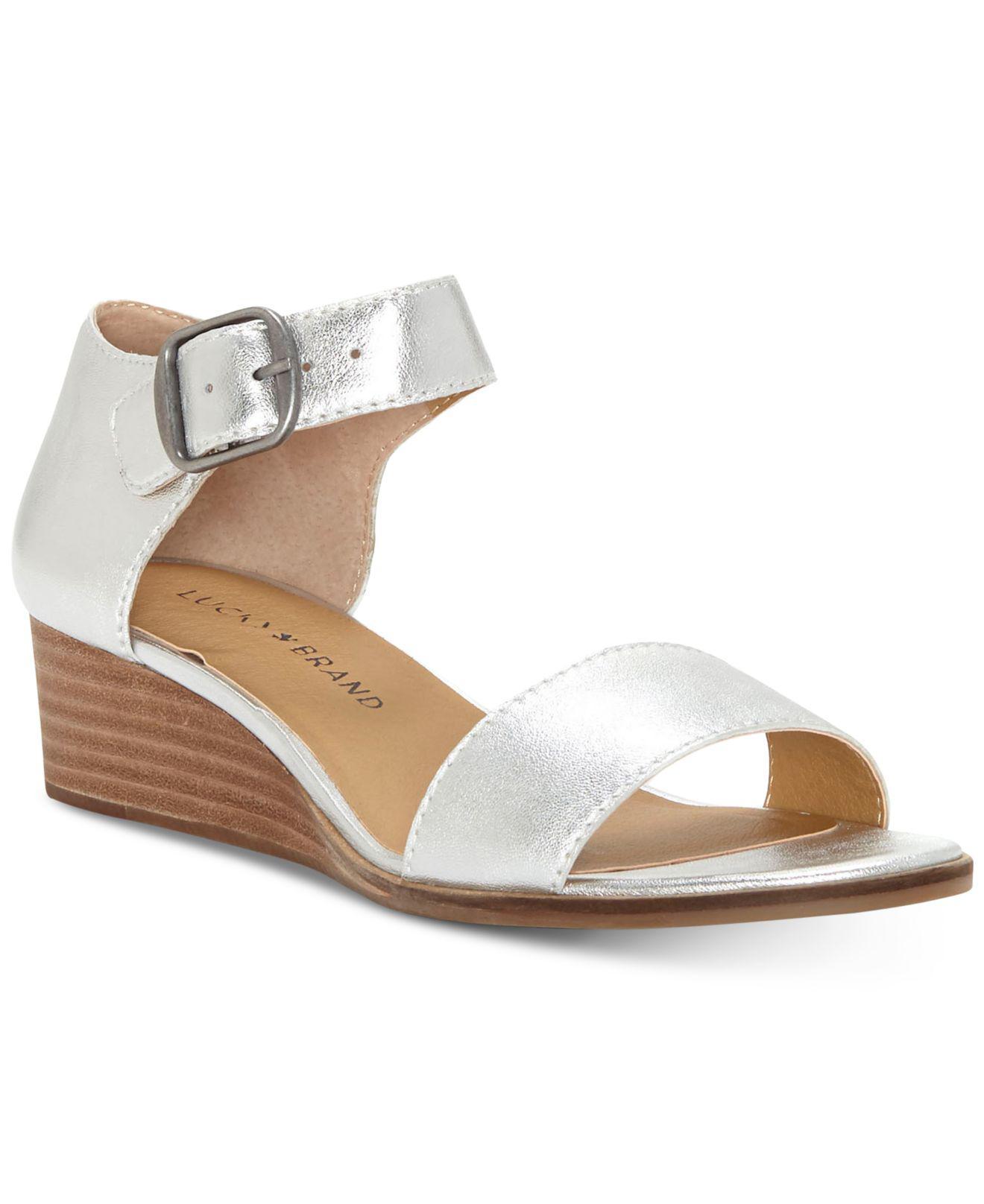 Riamsee Suede Wedge Sandals jM1nnAY
