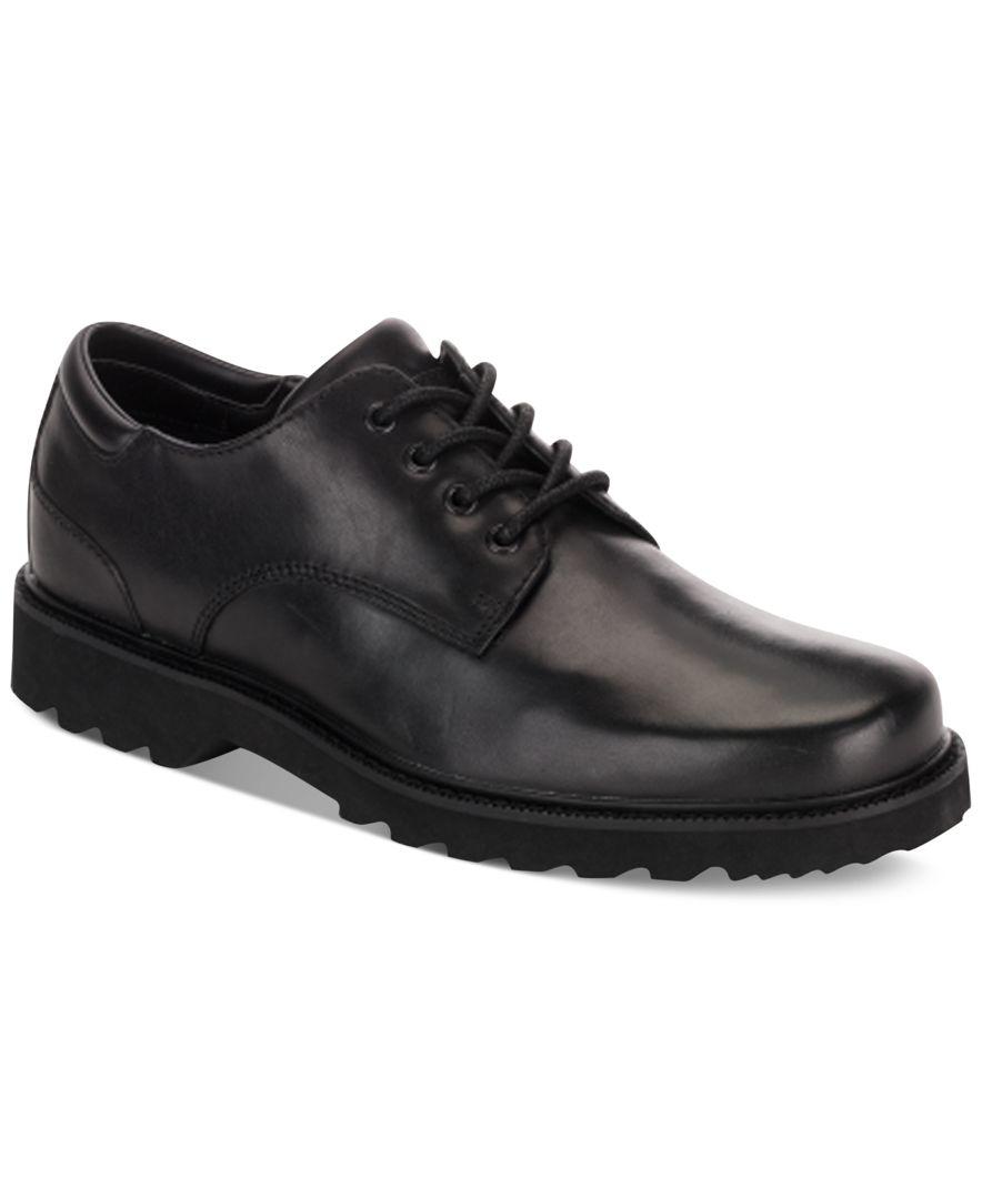 Rockport Men S Waterproof Northfield Oxfords In Black For