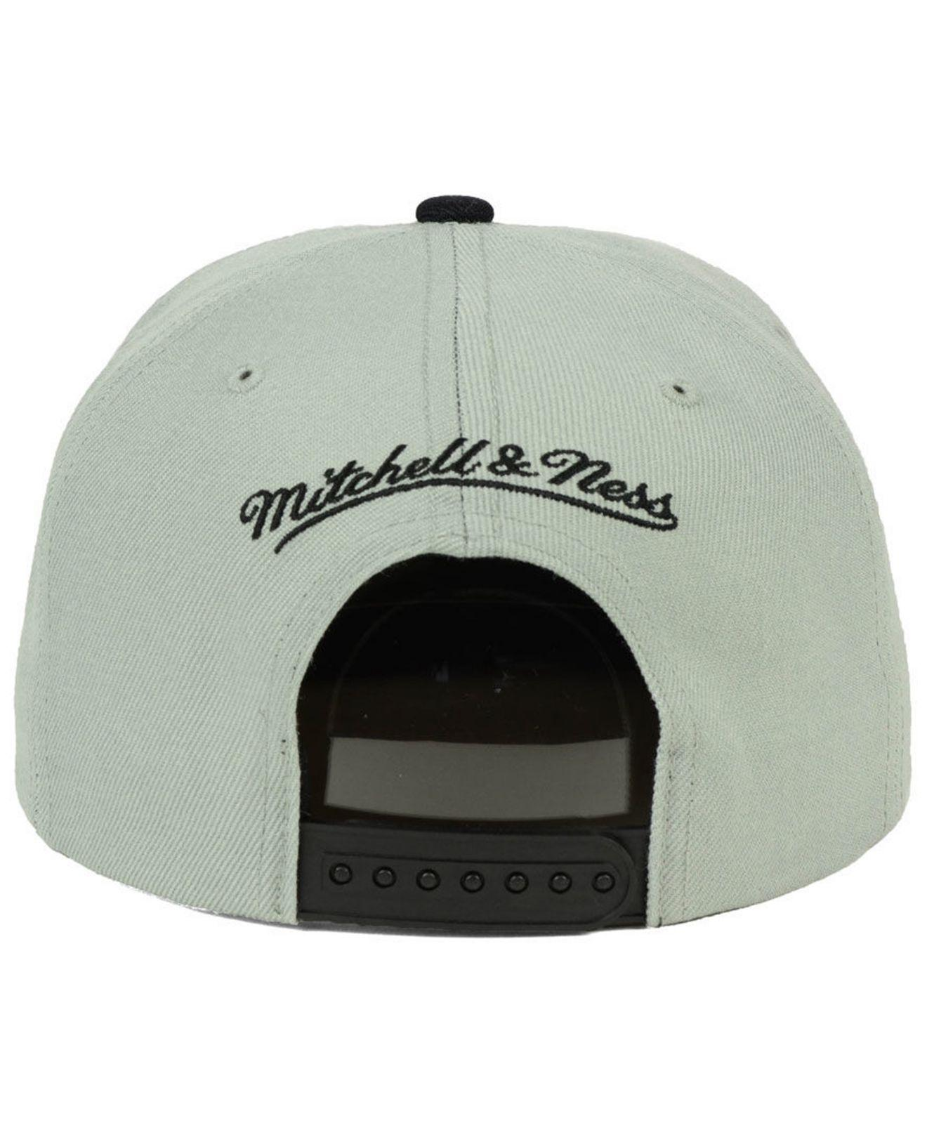 new product 3541c 1b619 ... switzerland mitchell ness multicolor san antonio spurs cropped satin snapback  cap for men lyst. view