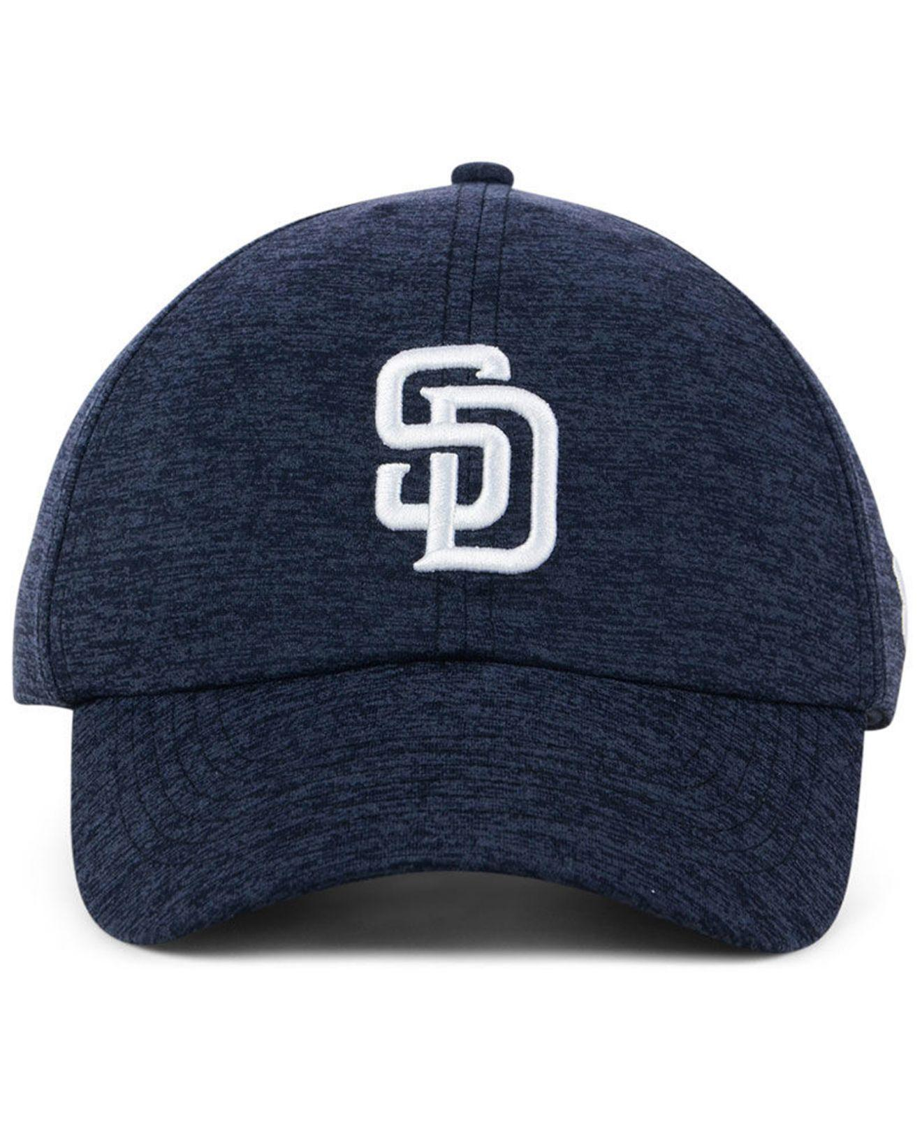 1c9b370aa30 ... mlb girls renegade twist cap larger image 6763d 13376  coupon lyst under  armour san diego padres renegade twist cap in blue 989ae be81c