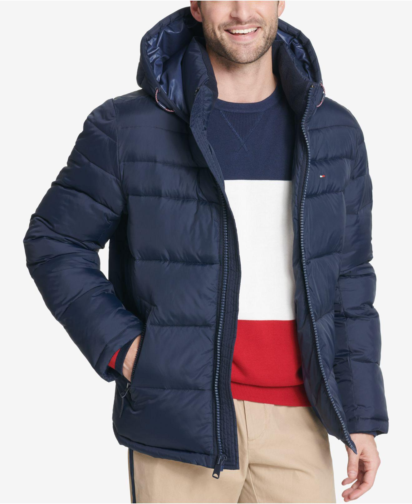 Lyst Tommy Hilfiger Quilted Puffer Jacket Created For
