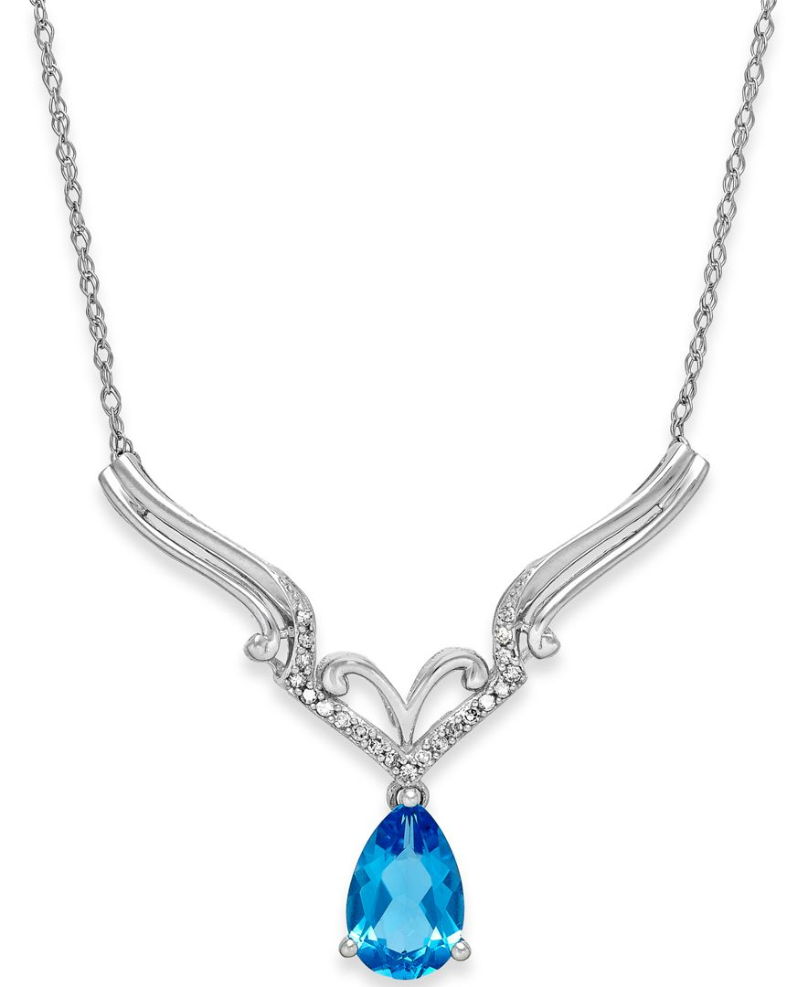 macy s blue topaz 1 1 6 ct t w and accent