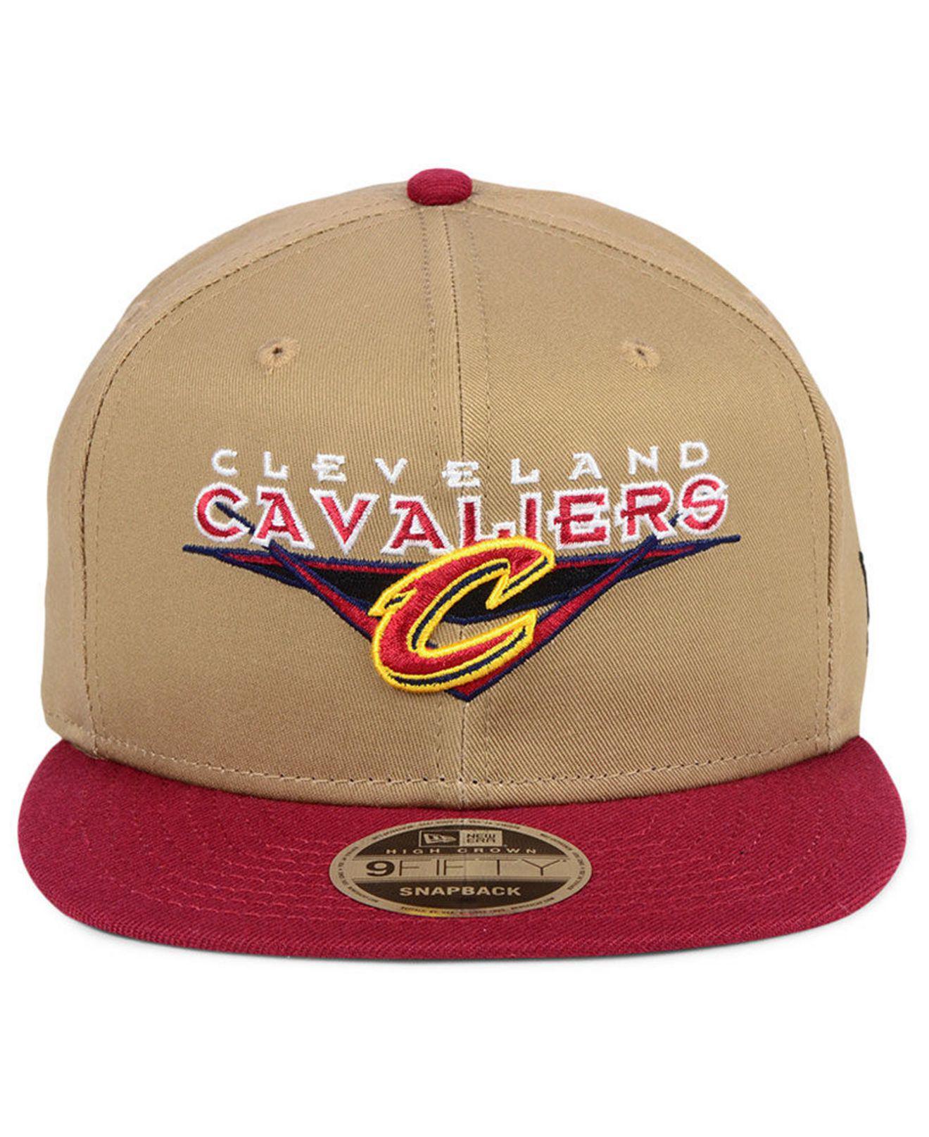 online retailer 99d83 a10e0 Lyst - KTZ Cleveland Cavaliers Jack Knife 9fifty Snapback Cap for Men