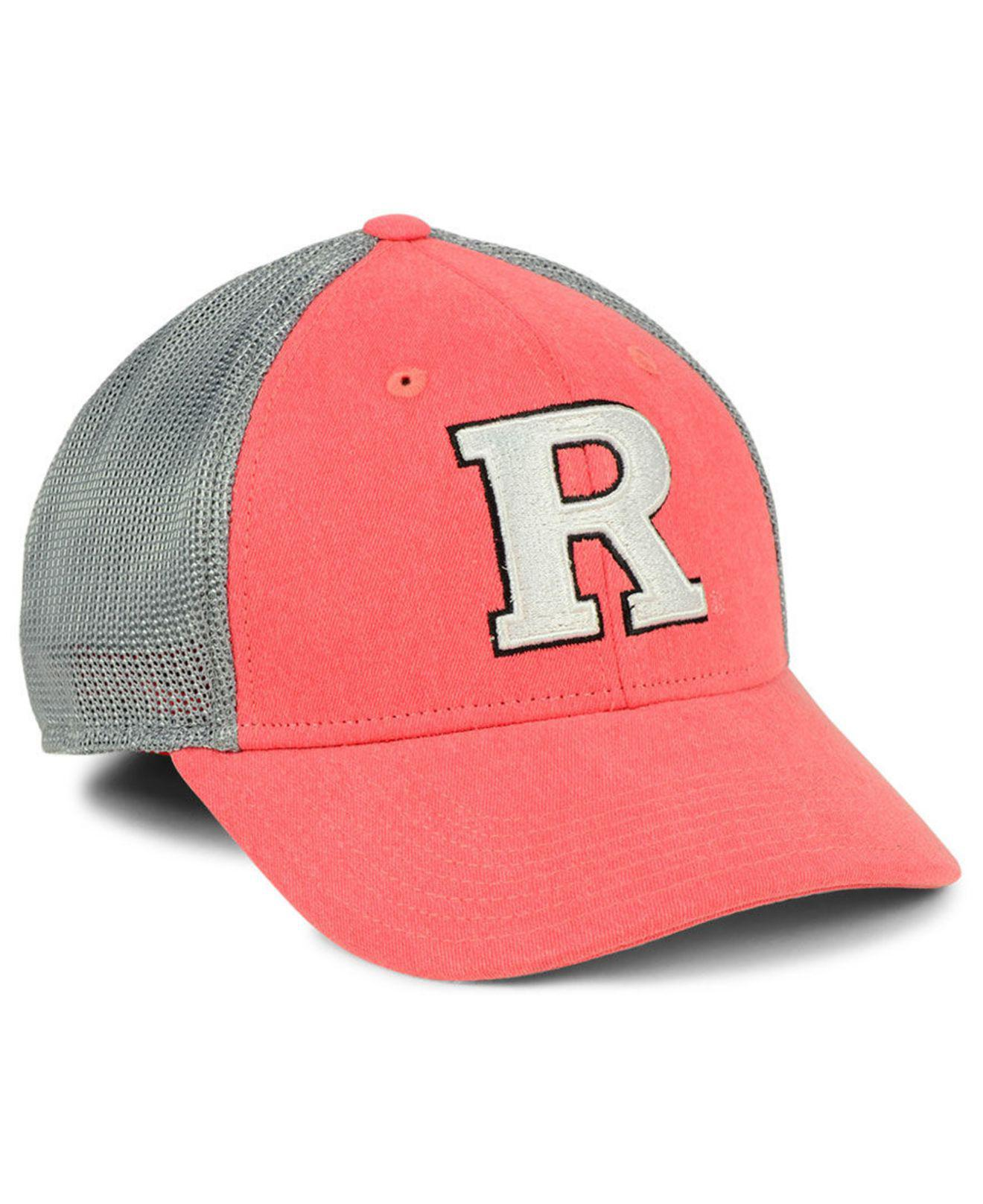 01a16c6a985 Lyst - adidas Rutgers Scarlet Knights Faded Flex Cap for Men