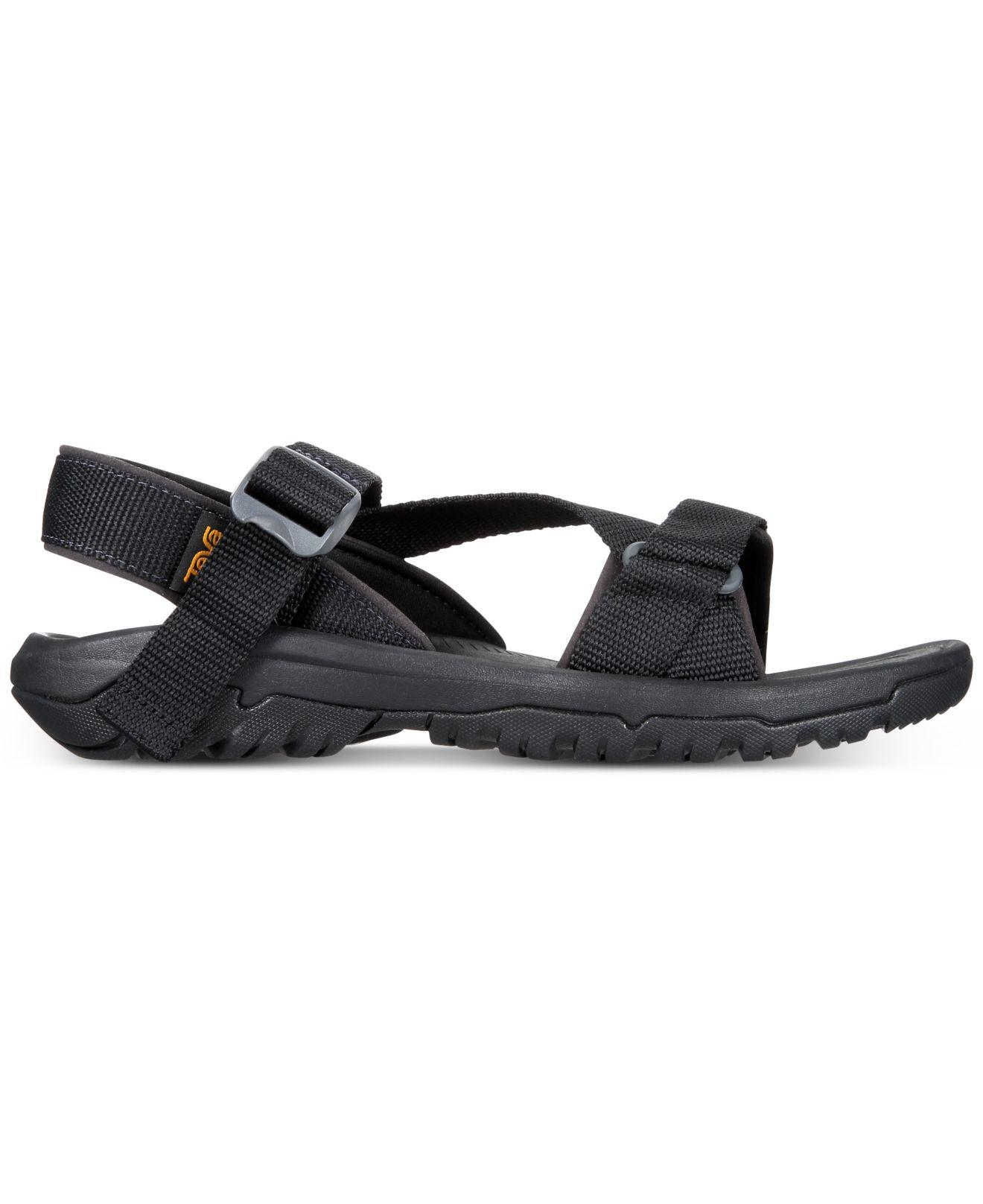 0020169e4888 Lyst - Teva Hurricane Xlt2 Cross-strap Water-resistant Sandals in Black