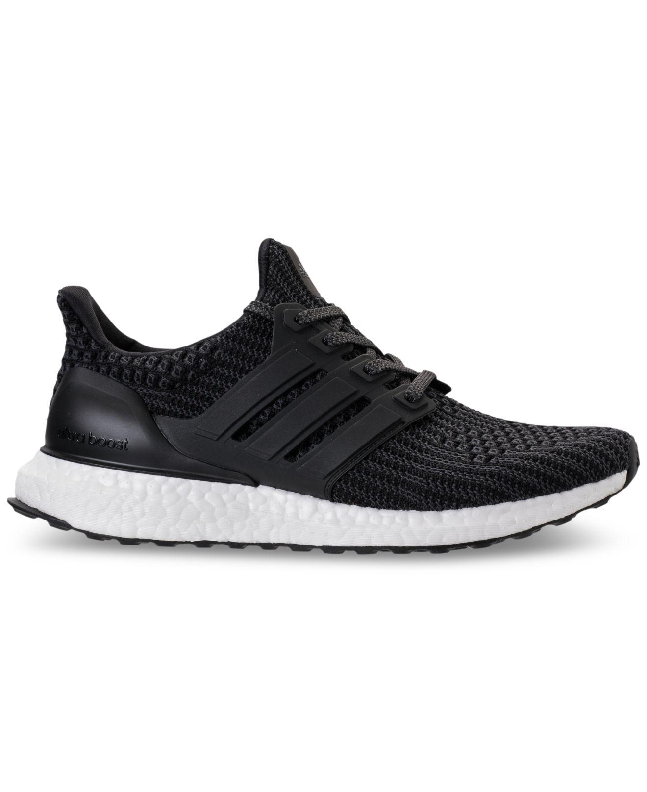 d16af379c ... real lyst adidas womens ultra boost running sneakers from finish line  in black a6875 830d8