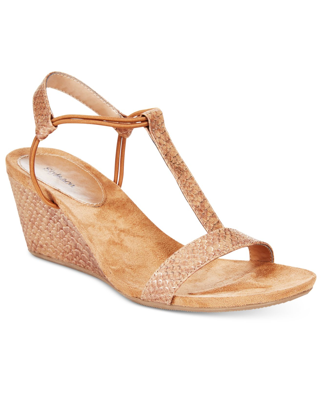 style co mulan wedge sandals only at macy s in beige