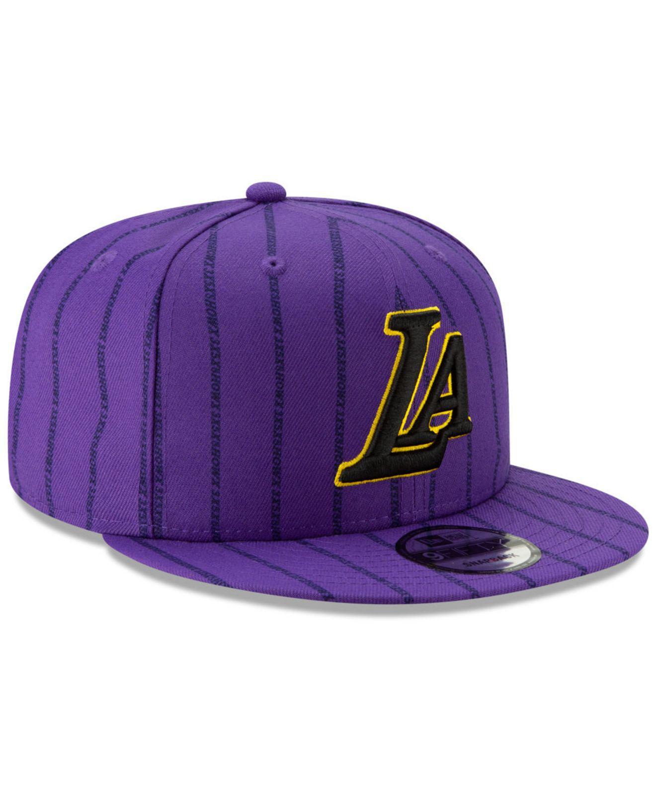 check out c00af a1120 KTZ. Men s Purple Los Angeles Lakers City Series 2.0 9fifty Snapback Cap