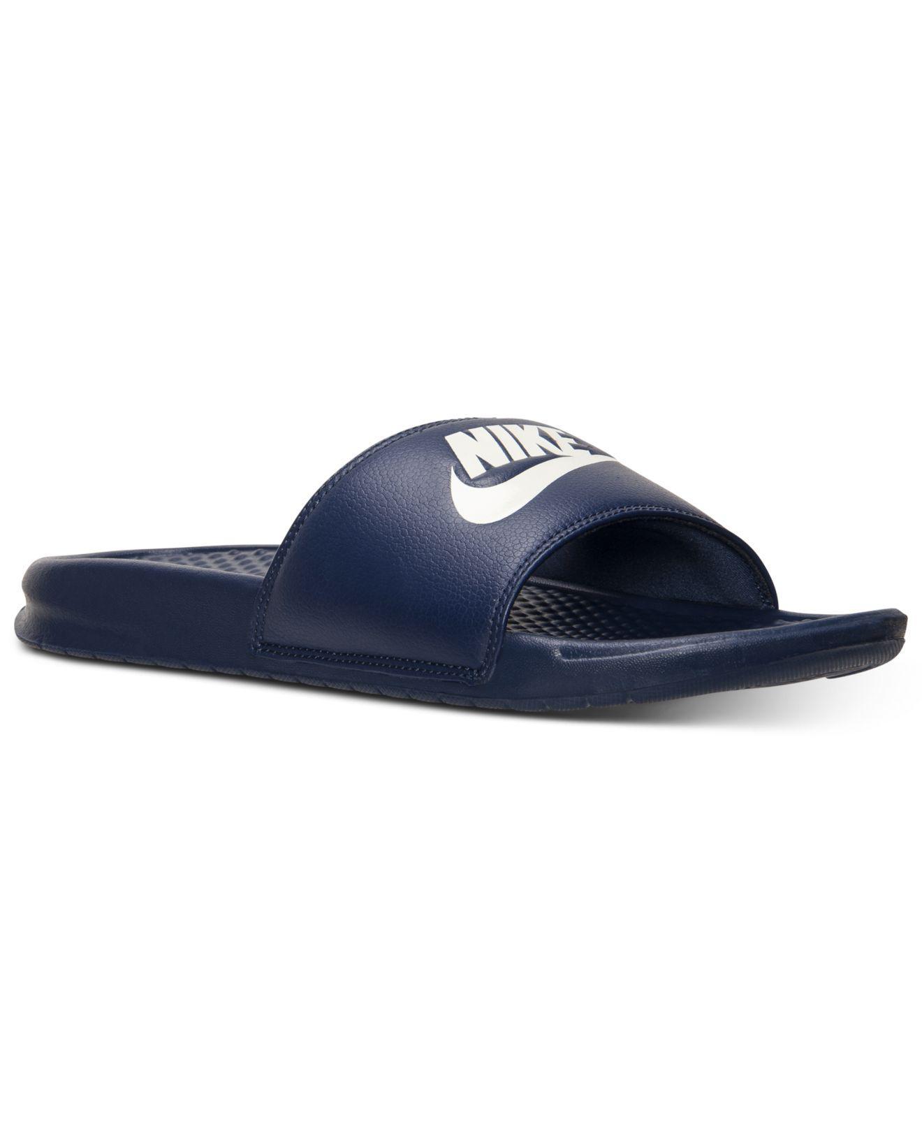 8474251e8 Lyst - Nike Benassi Jdi Slide Sandals From Finish Line in Blue for Men