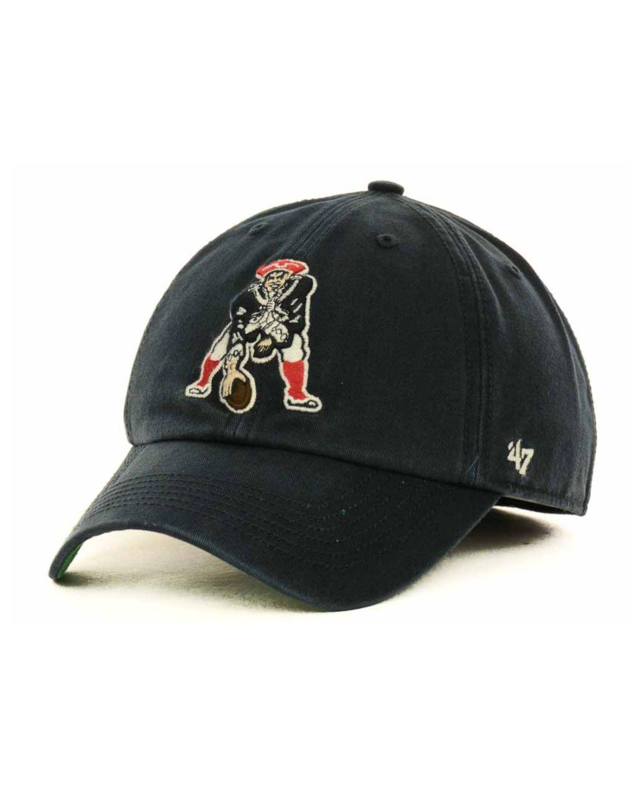 59d143bb644 Lyst - 47 Brand New England Patriots Franchise Hat in Black for Men