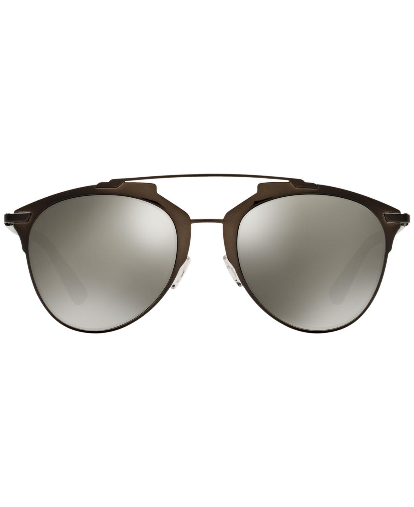 a83441c80e07 Dior Reflected Aviator Sunglasses in Black - Save 61% - Lyst