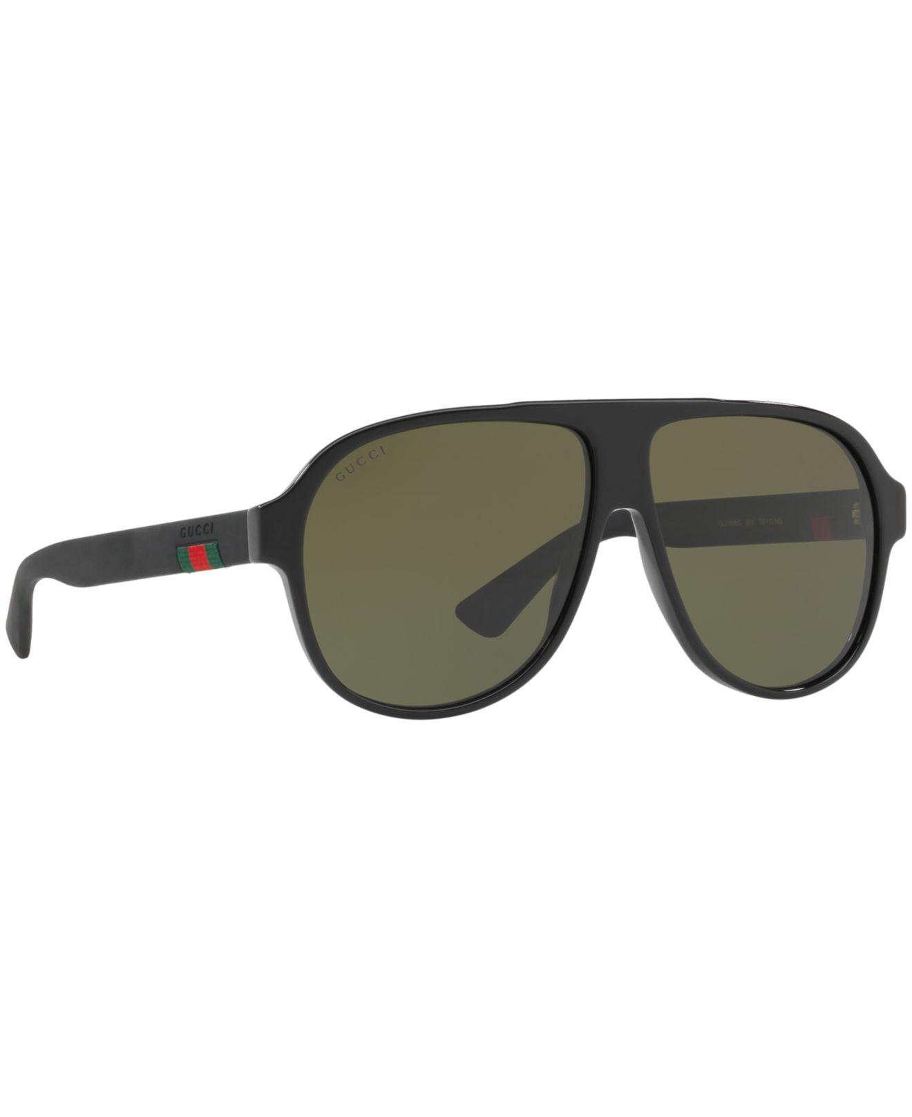 f4101ec223f Gucci - Green Sunglasses