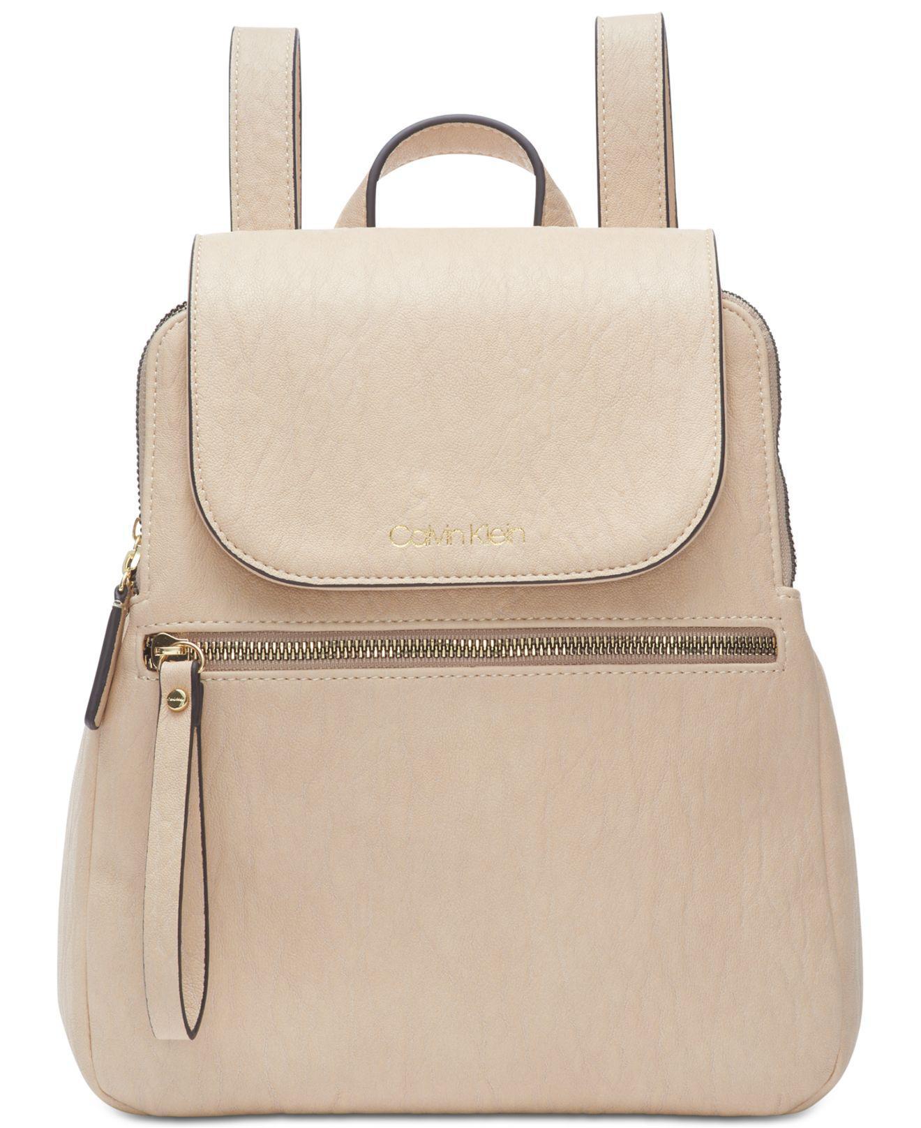 67e46d999a6b Calvin Klein. Women s Elaine Flap Backpack