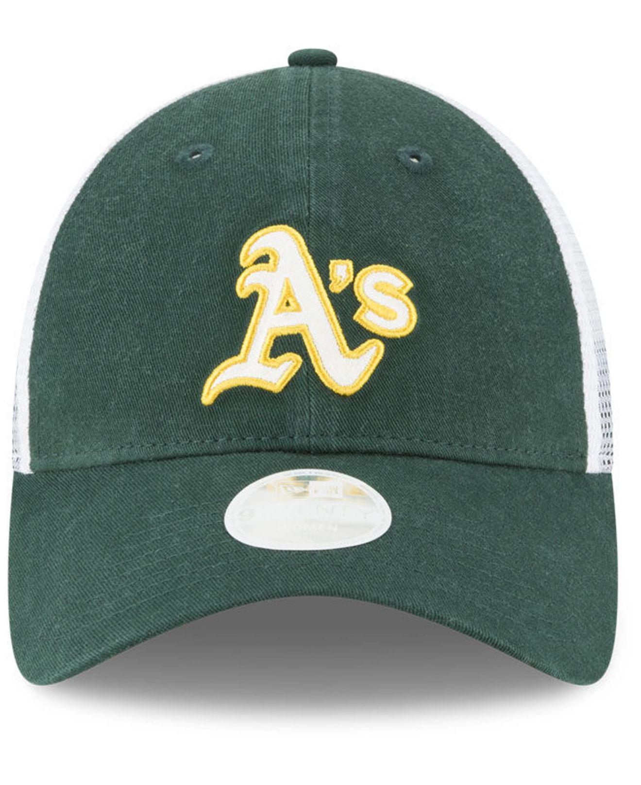 competitive price 10917 d91af buy oakland athletics trucker shine 9twenty cap for men lyst. view  fullscreen b88d3 aad34