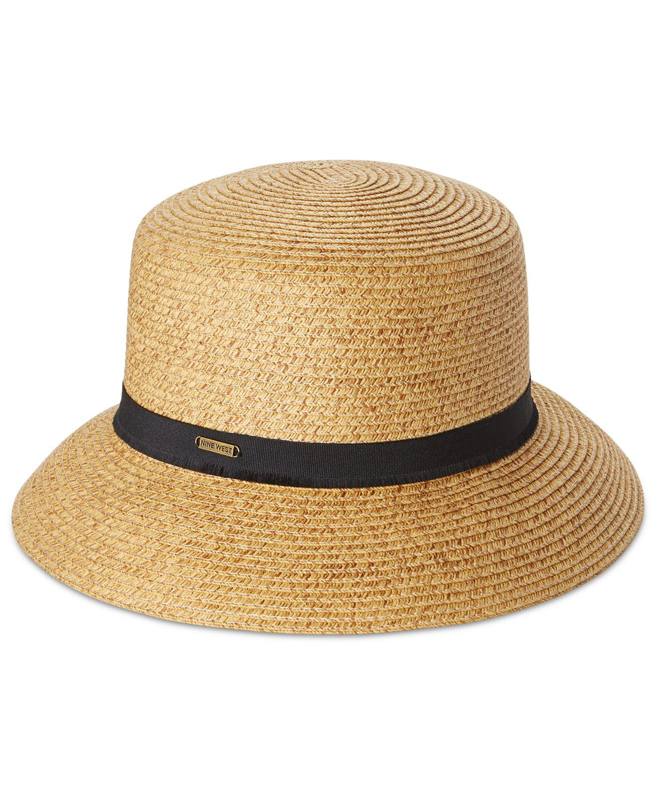 e471f30c7f9b82 Nine West Packable Microbrim Hat - Lyst