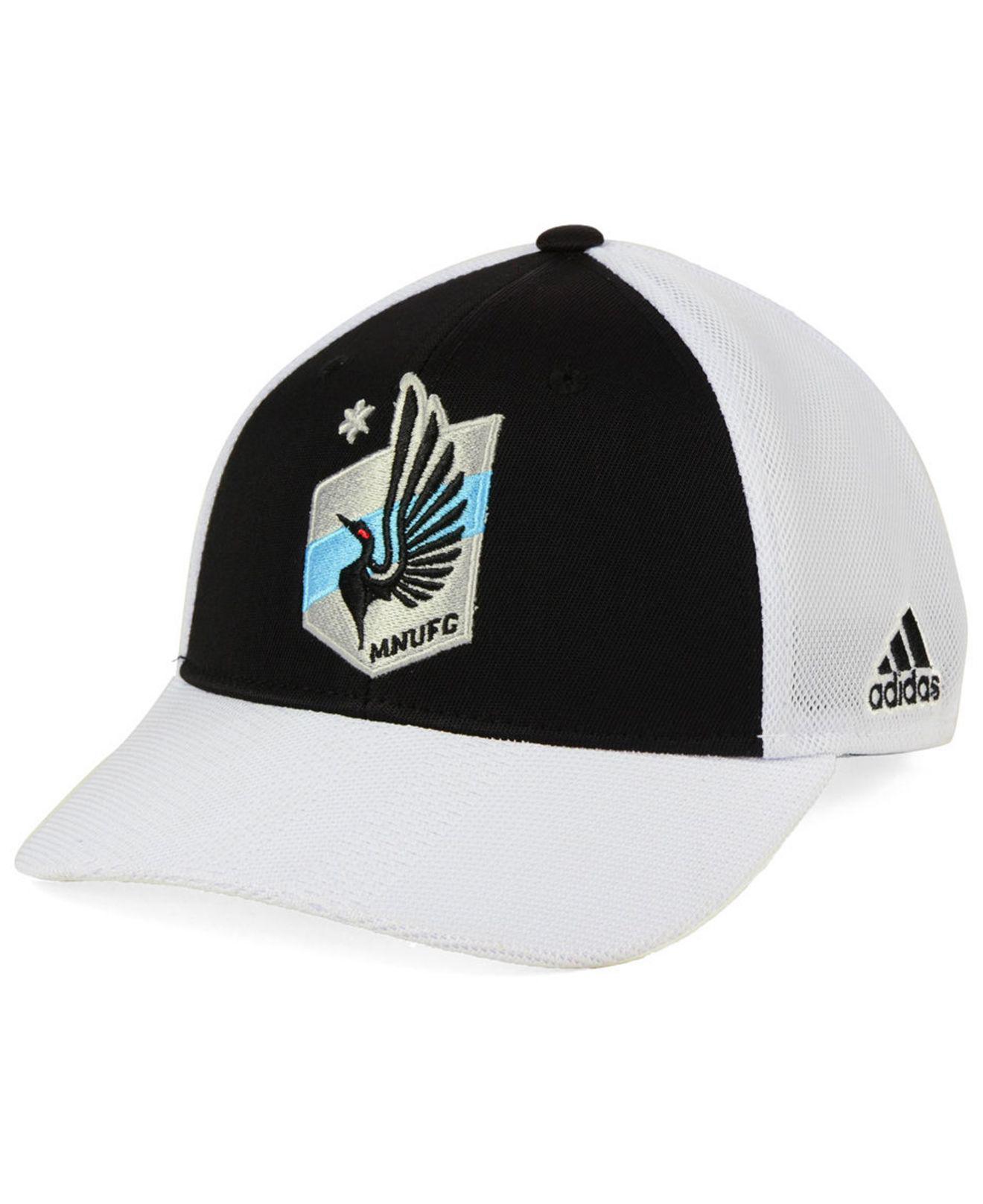 save off 09e9e 0680c Lyst - adidas Minnesota United Fc Authentic Mesh Adjustable Cap in ...