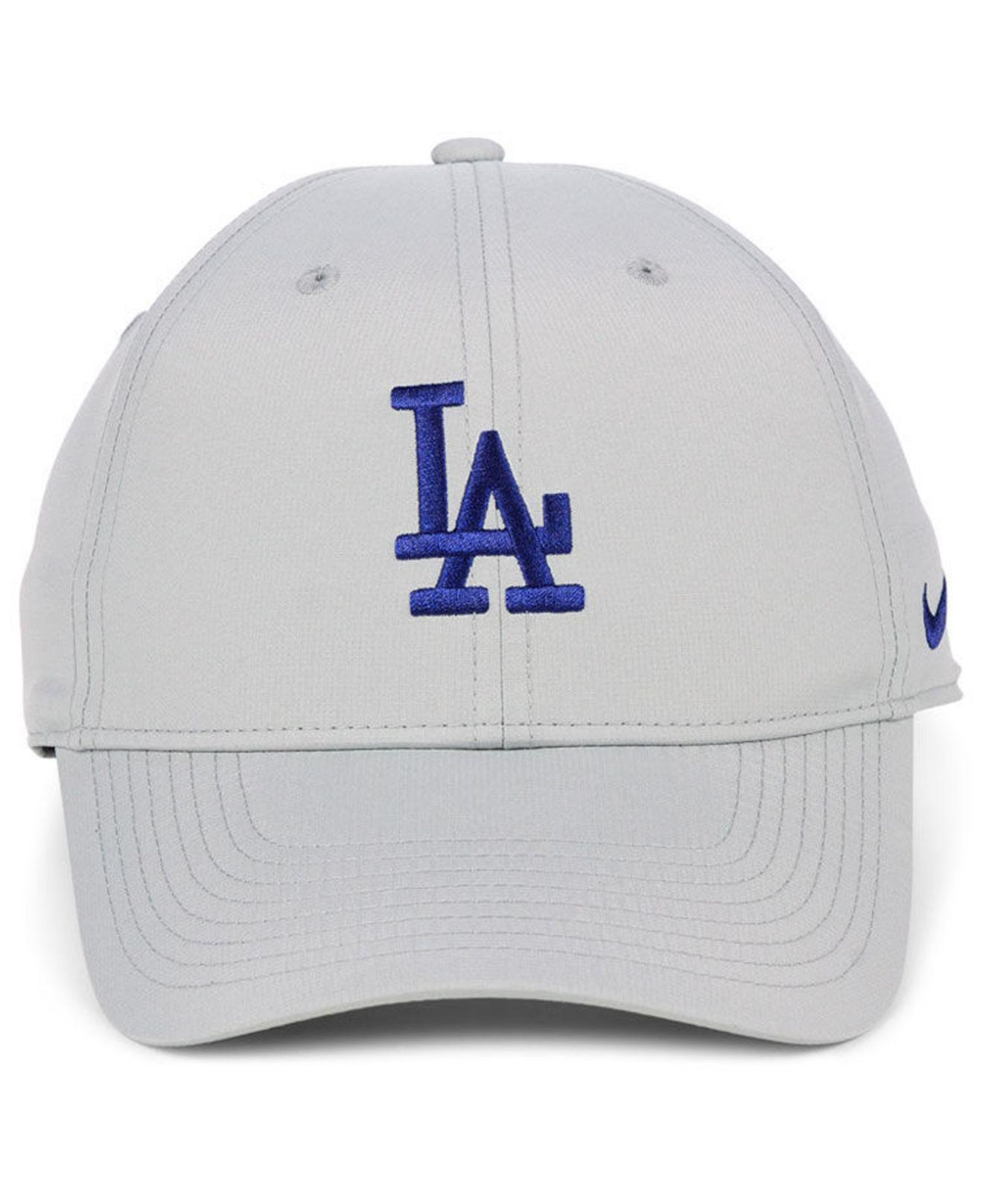 the best attitude 3095d 8a2e0 Lyst - Nike Los Angeles Dodgers Legacy Performance Cap in Gray for Men