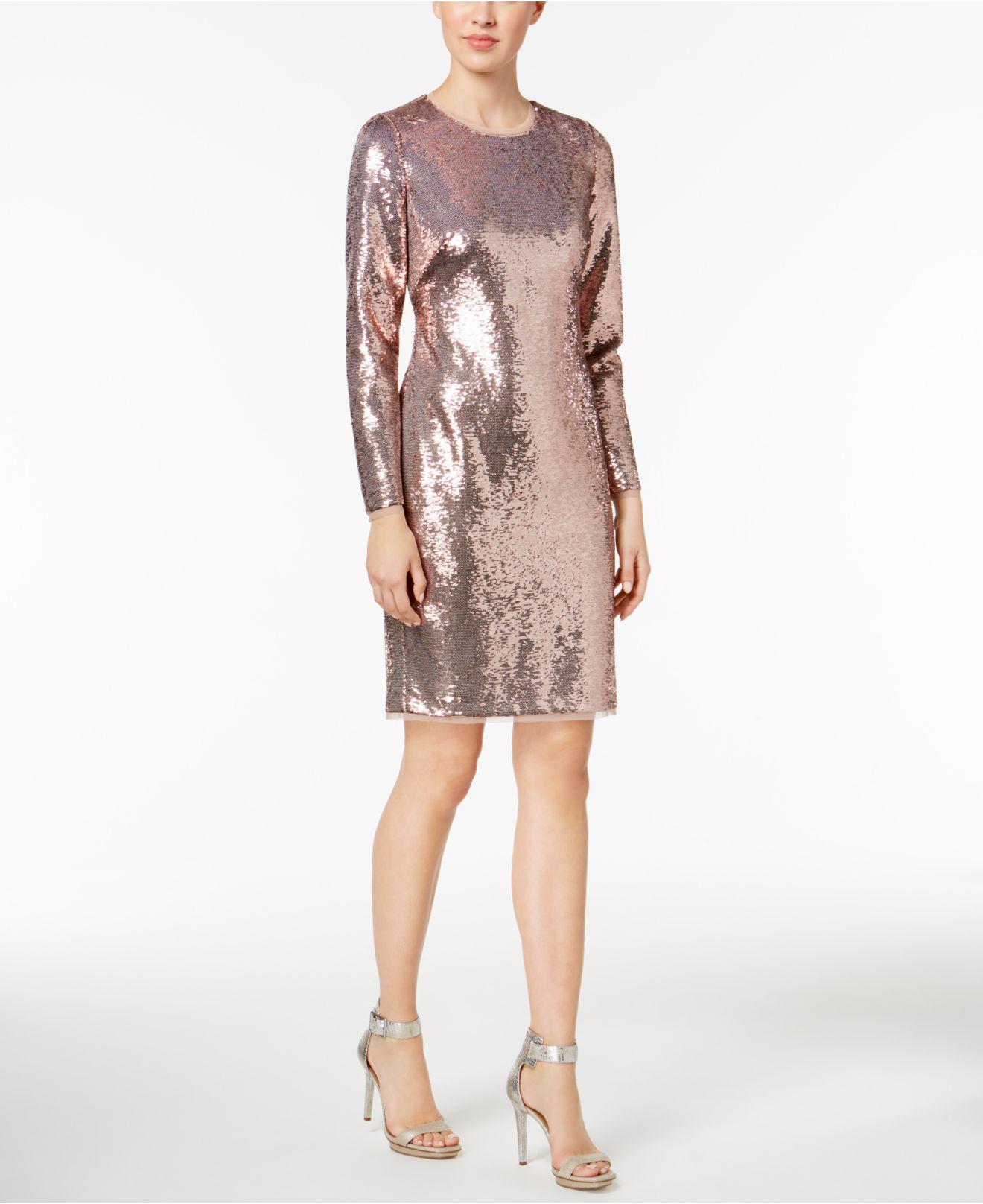 95a44d212 Rose Gold Lace Dress Macys - raveitsafe