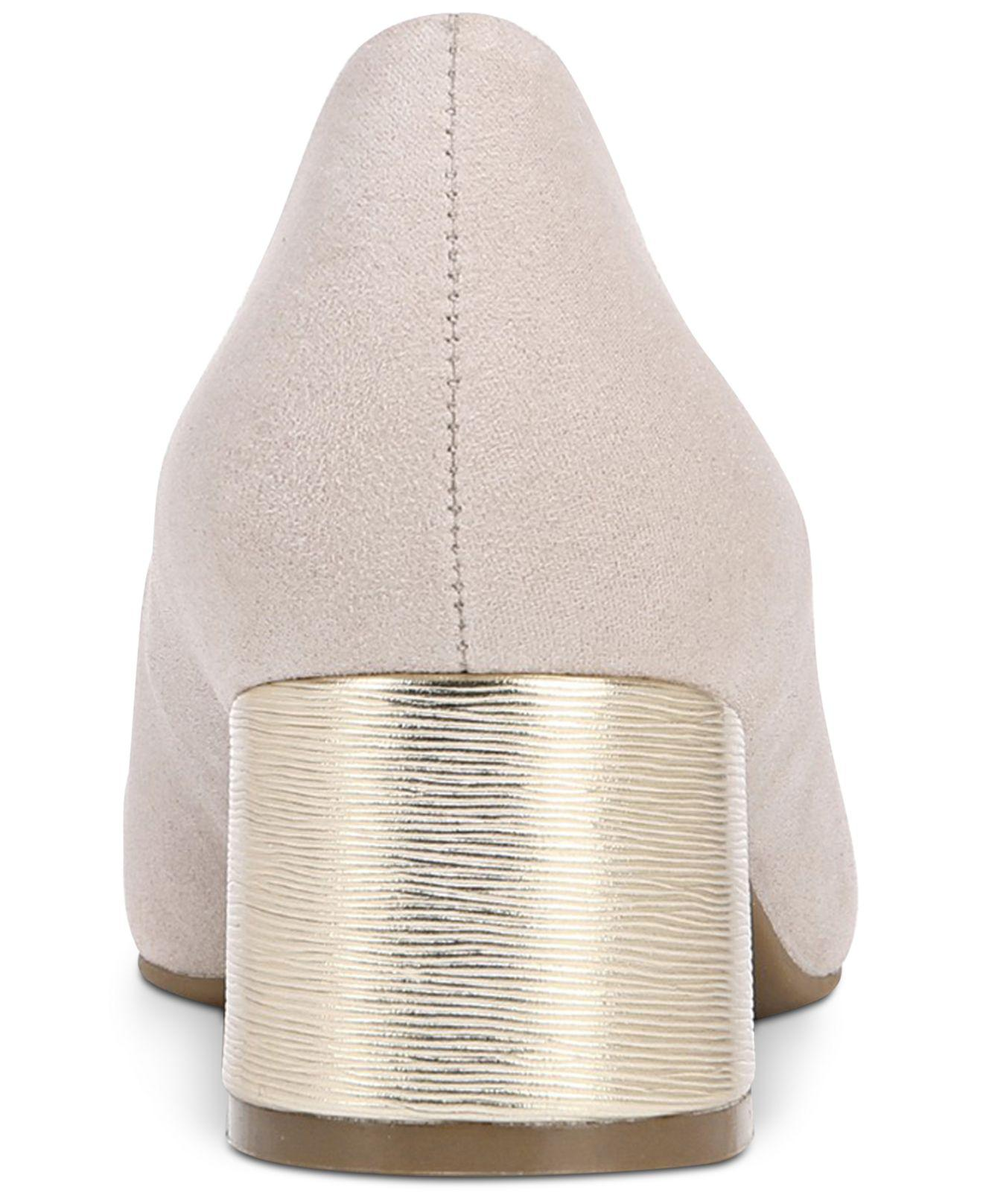 9850778257c5 Naturalizer - Gray Donelle Pumps - Lyst. View fullscreen