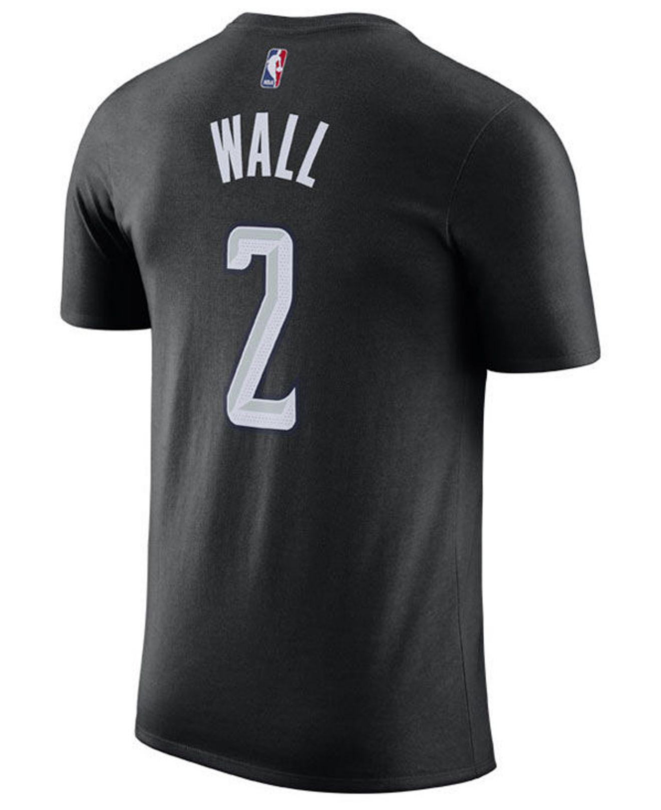 Lyst - Nike John Wall Washington Wizards City Player T-shirt 2018 in Black  for Men a87c02a85