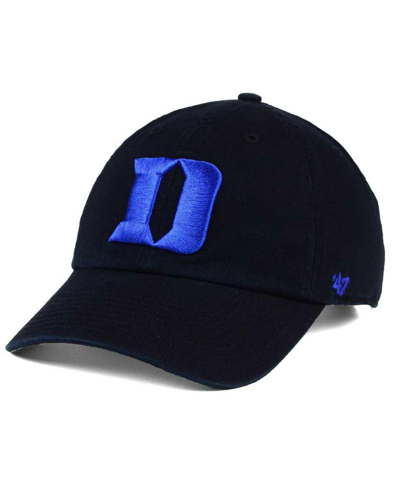 cheap for discount 30870 72773 ... where can i buy 47 brand. mens black duke blue devils clean up cap 52c1f