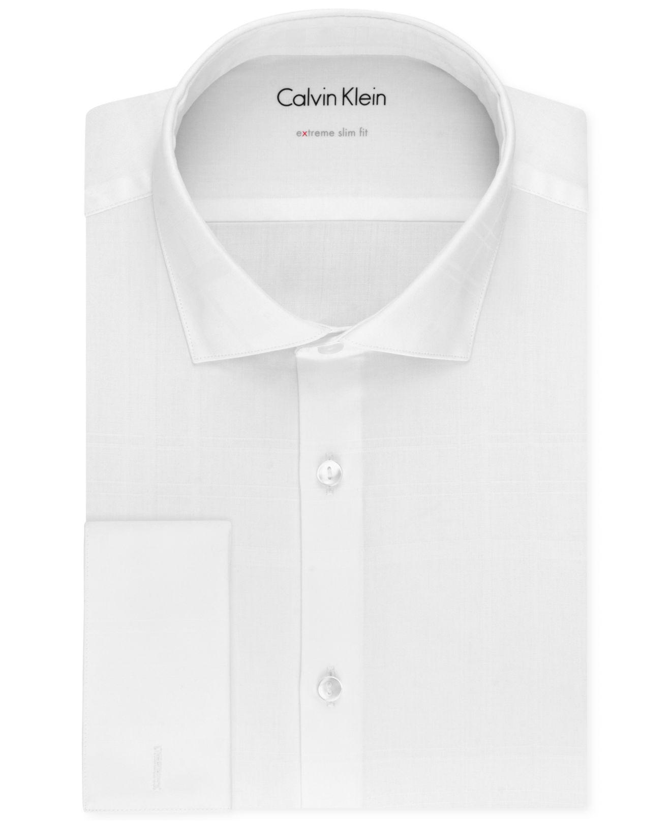 Extra Slim Fit Tuxedo Shirt