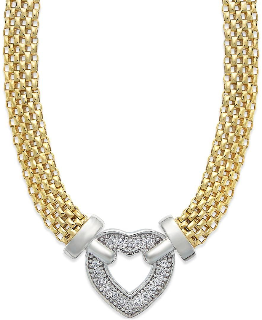 macy s necklace in 14k gold vermeil and