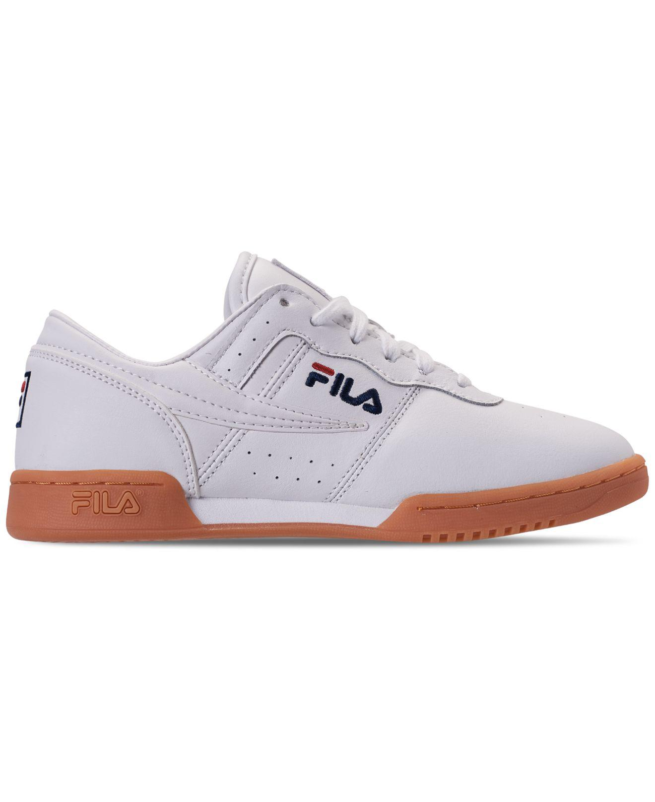 0ba037bcd994 Lyst - Fila Original Fitness Casual Athletic Sneakers From Finish Line in  White