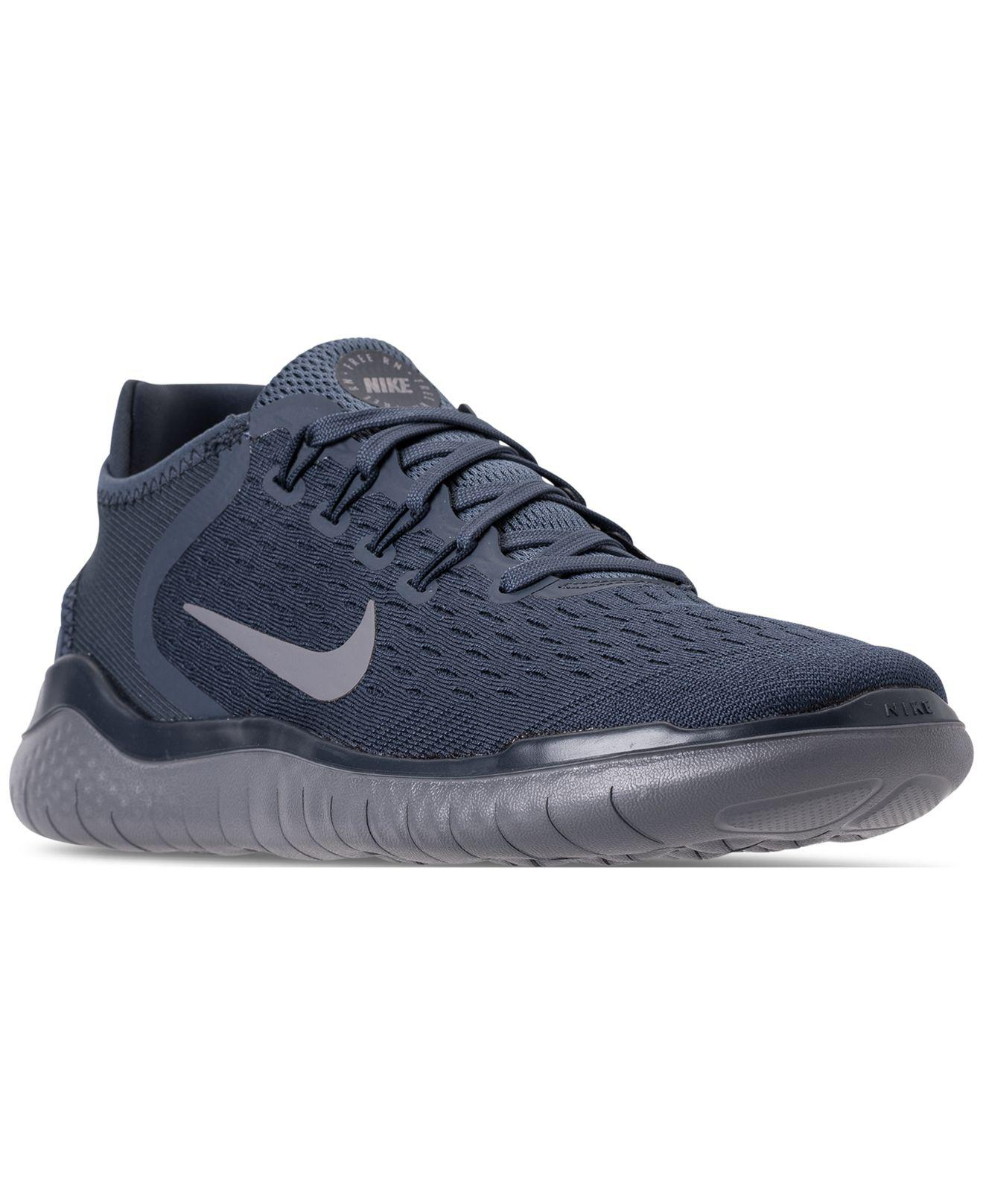 f80cfc17e197e Lyst - Nike Free Run 2018 Running Sneakers From Finish Line in Blue ...
