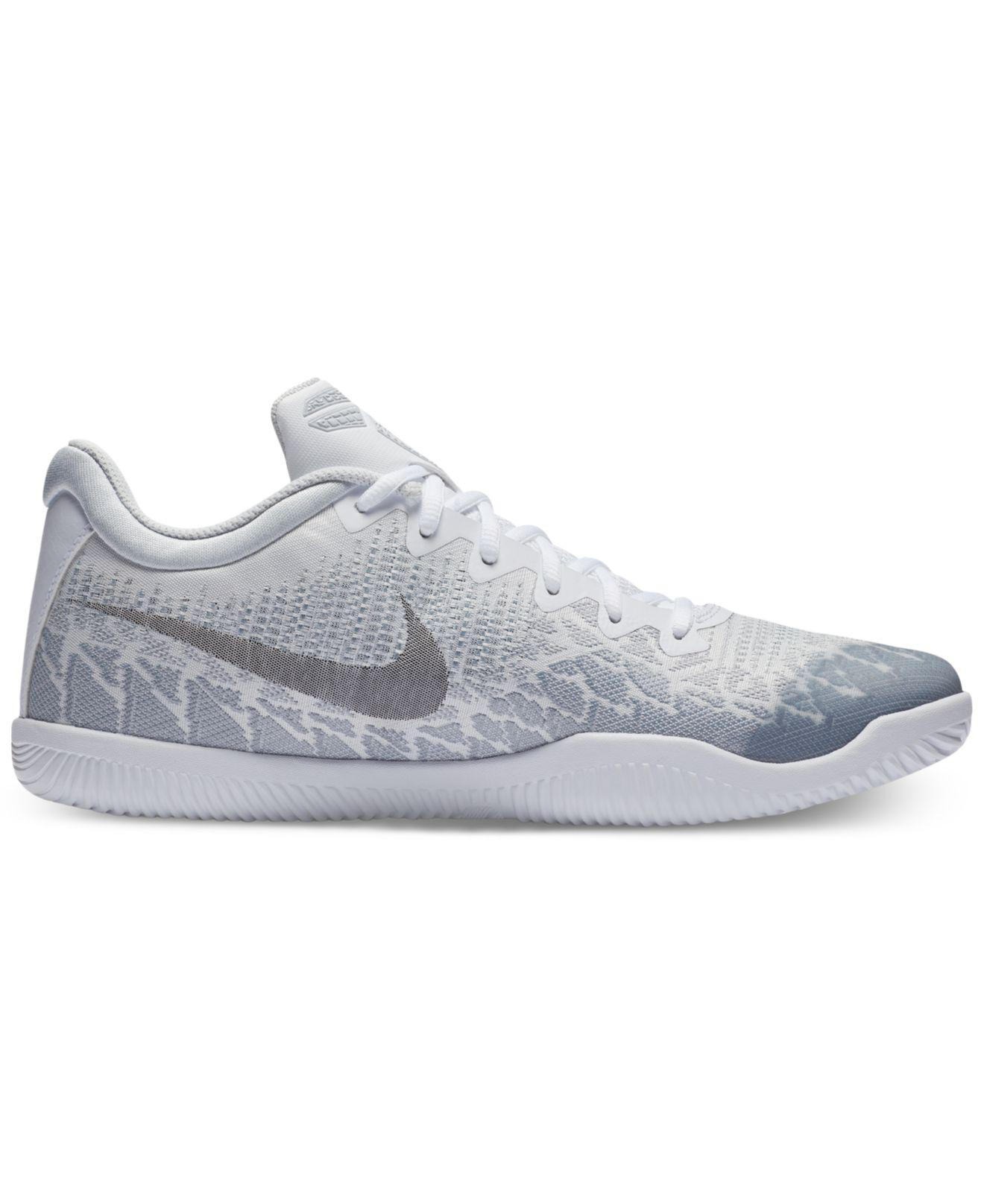 big sale fefb1 0649d ... france lyst nike kobe mamba rage basketball sneakers from finish line  in gray for men save