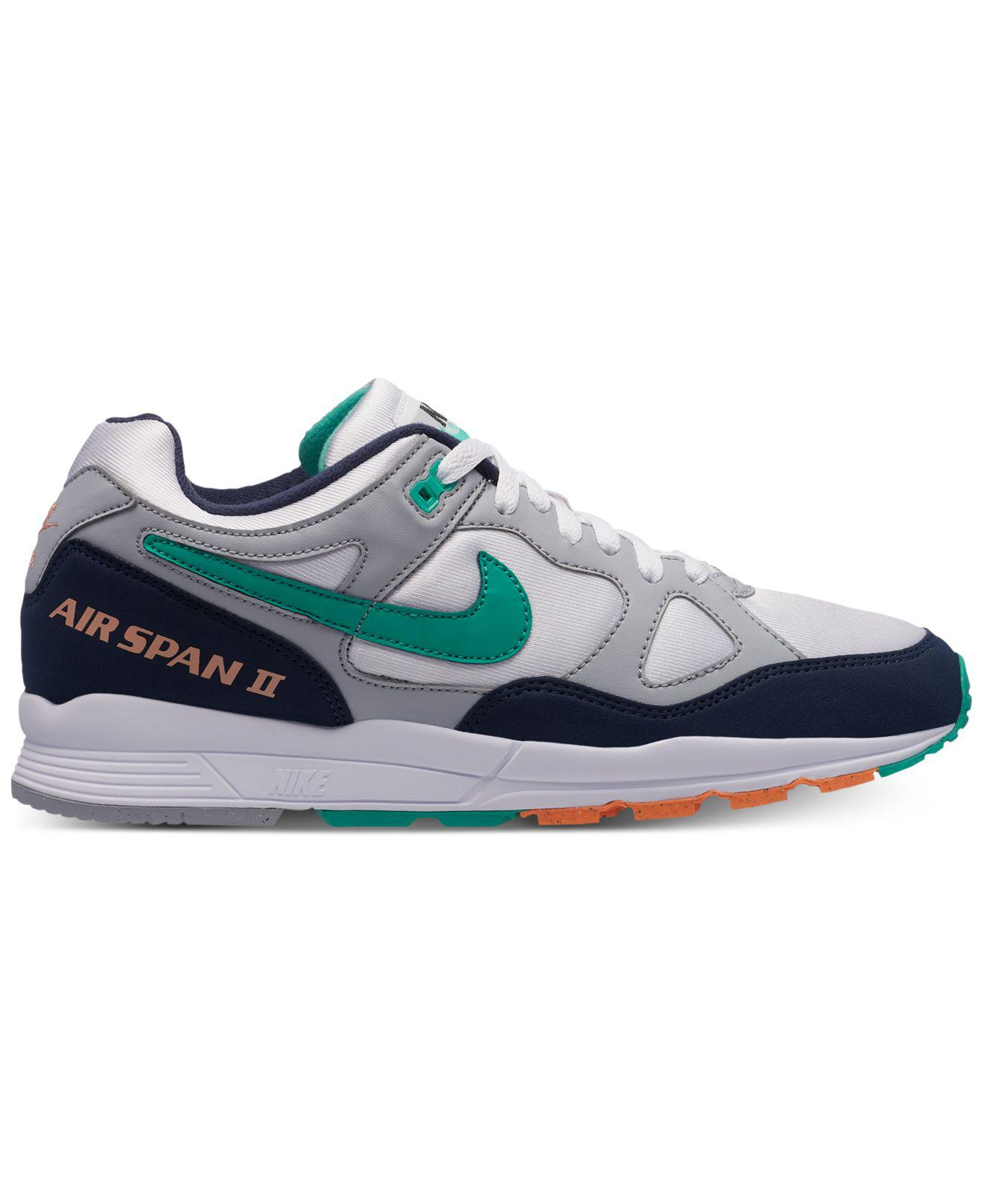Nike. Men's Gray Air Span Ii Casual Sneakers From Finish Line