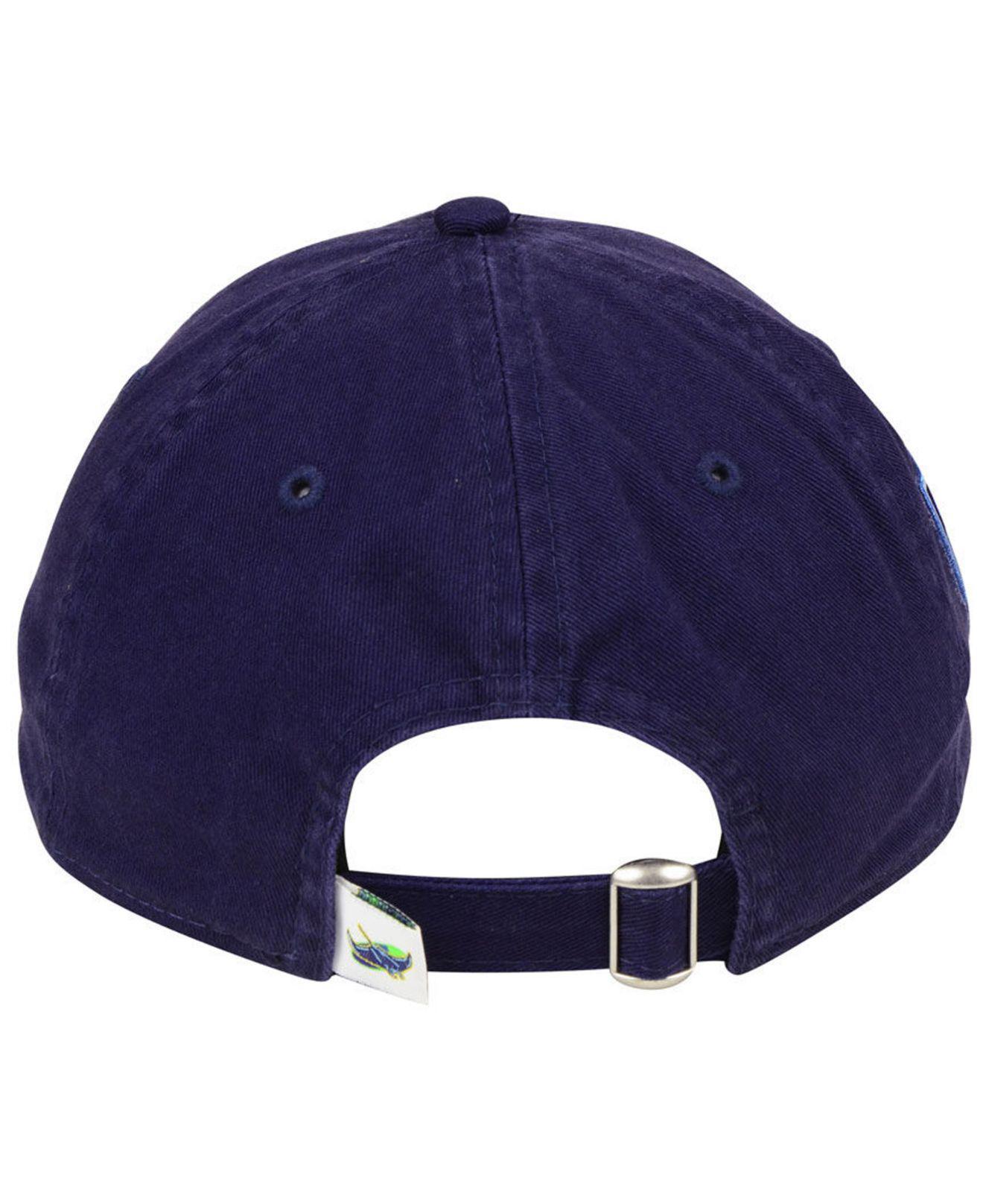new product 20bec 0a7bb ... germany tampa bay rays core classic 20th anniversary 9twenty cap for  men lyst. view fullscreen