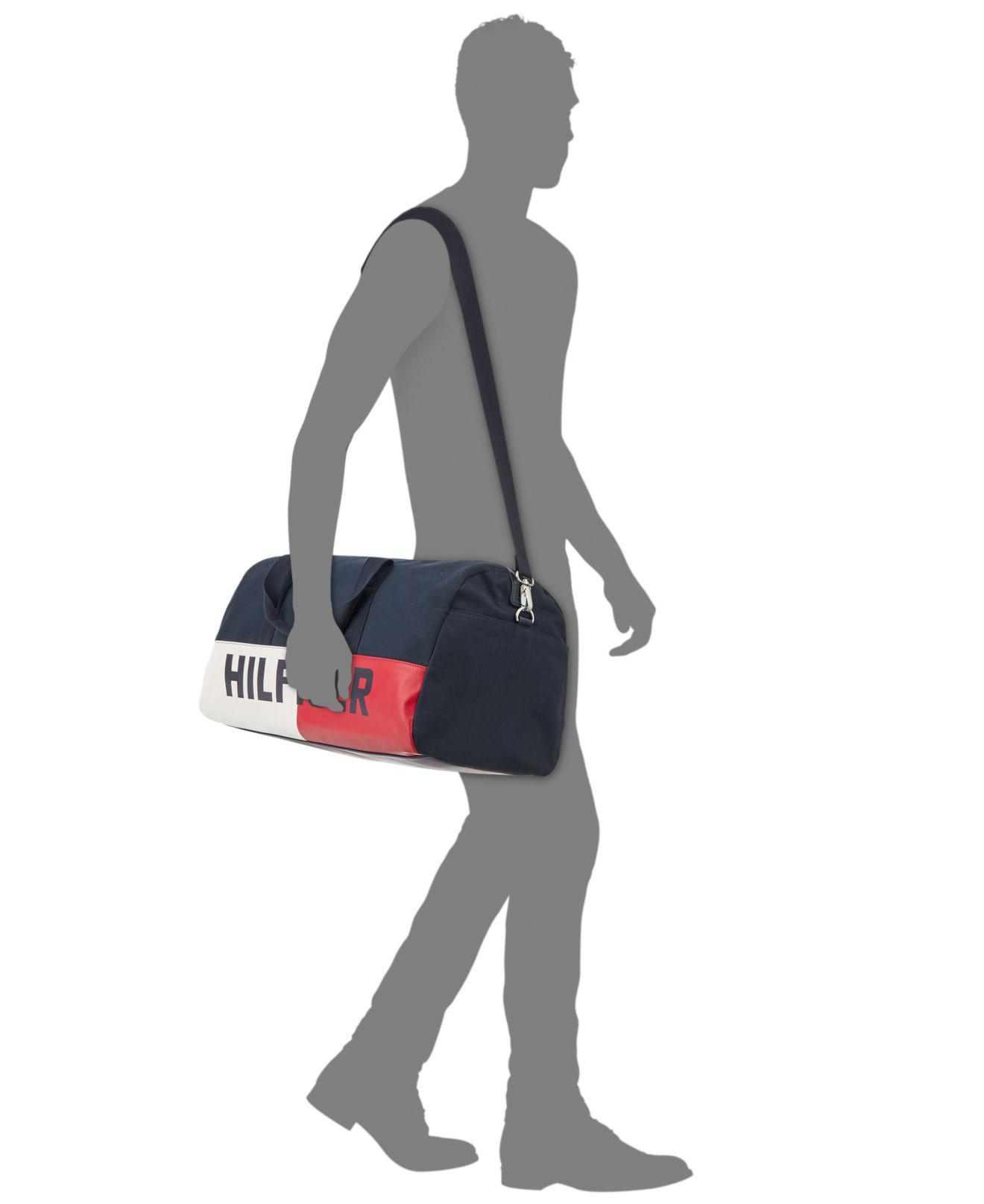 bc7993342 Tommy Hilfiger Men's Duffel Bag in Blue for Men - Lyst