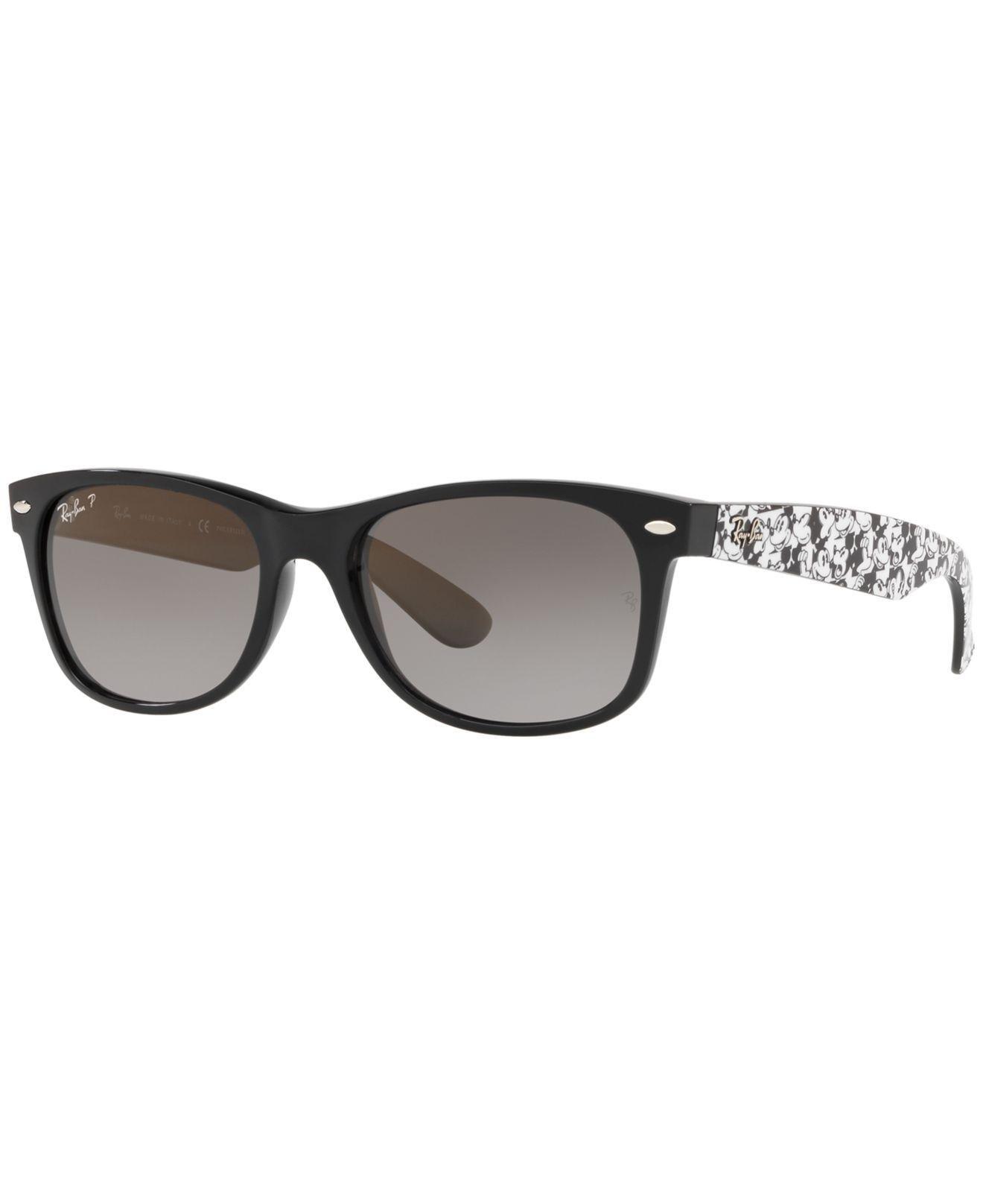 b46f2303a7bb8 Ray-Ban. Women s Black New Wayfarer Polarized Sunglasses ...