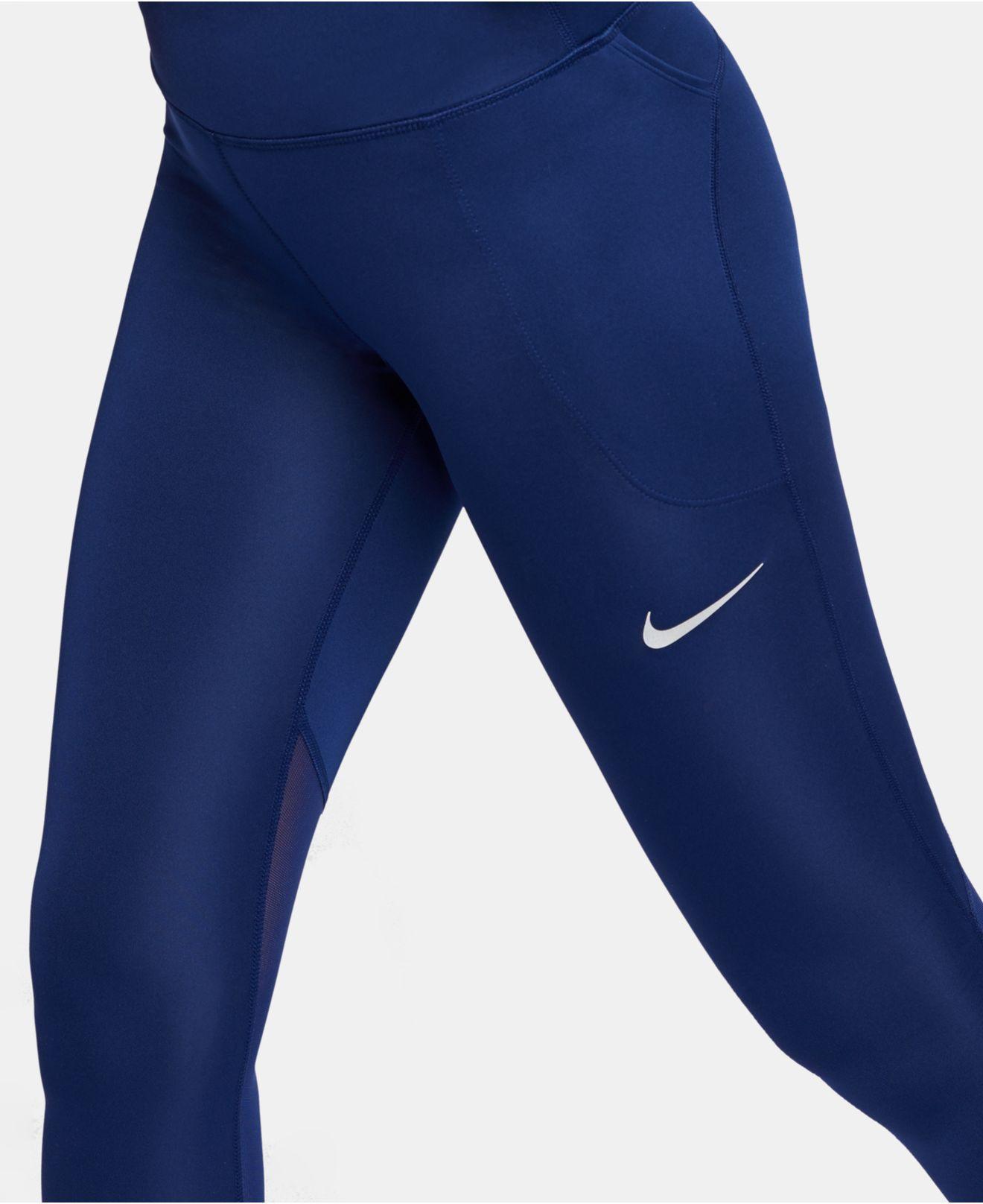 94f3ac68c64854 Nike - Blue Fast Capri Leggings - Lyst. View fullscreen