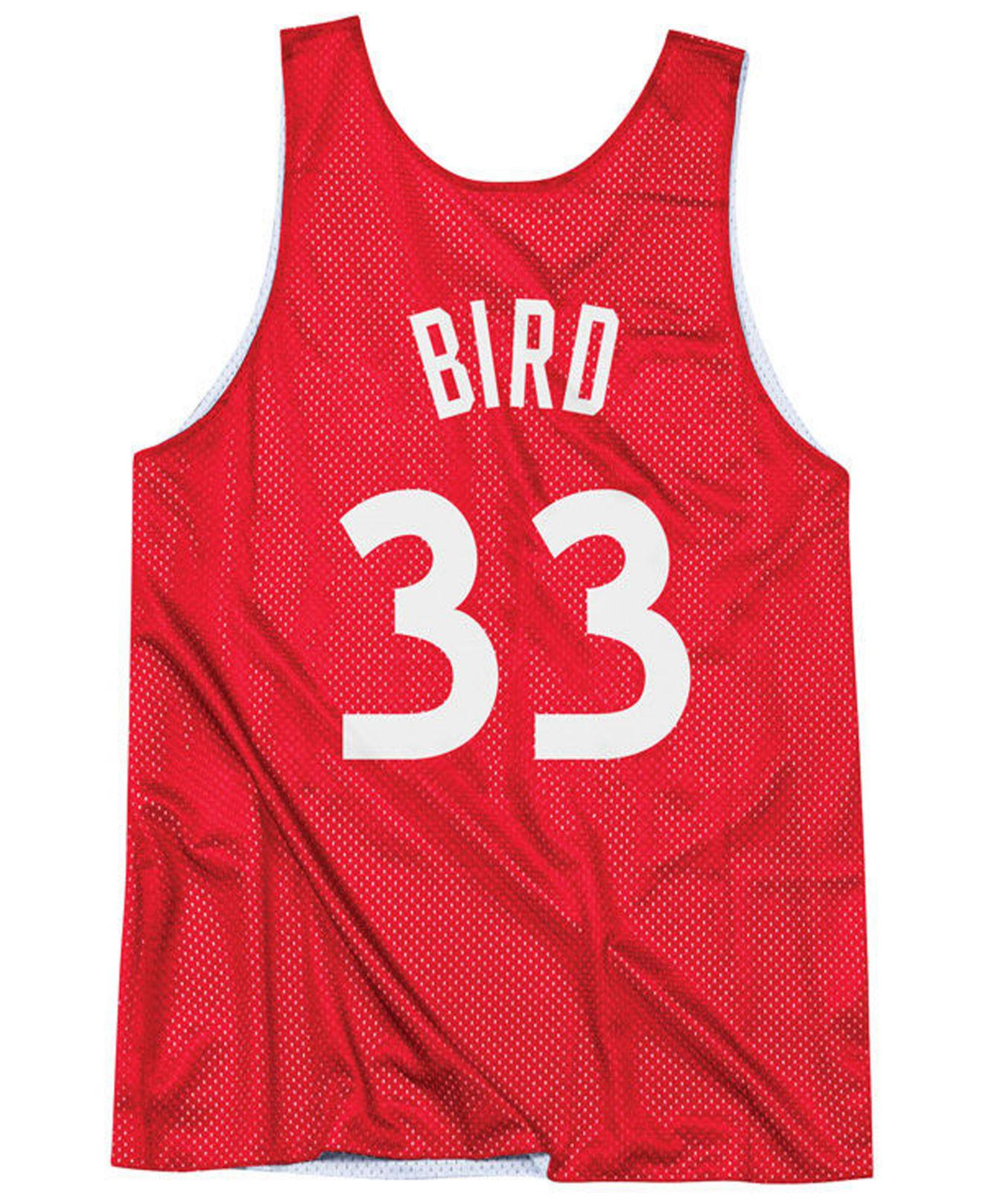 287584f05a3 Mitchell   Ness Larry Bird Nba All Star Reversible Tank in Red for Men -  Save 53% - Lyst
