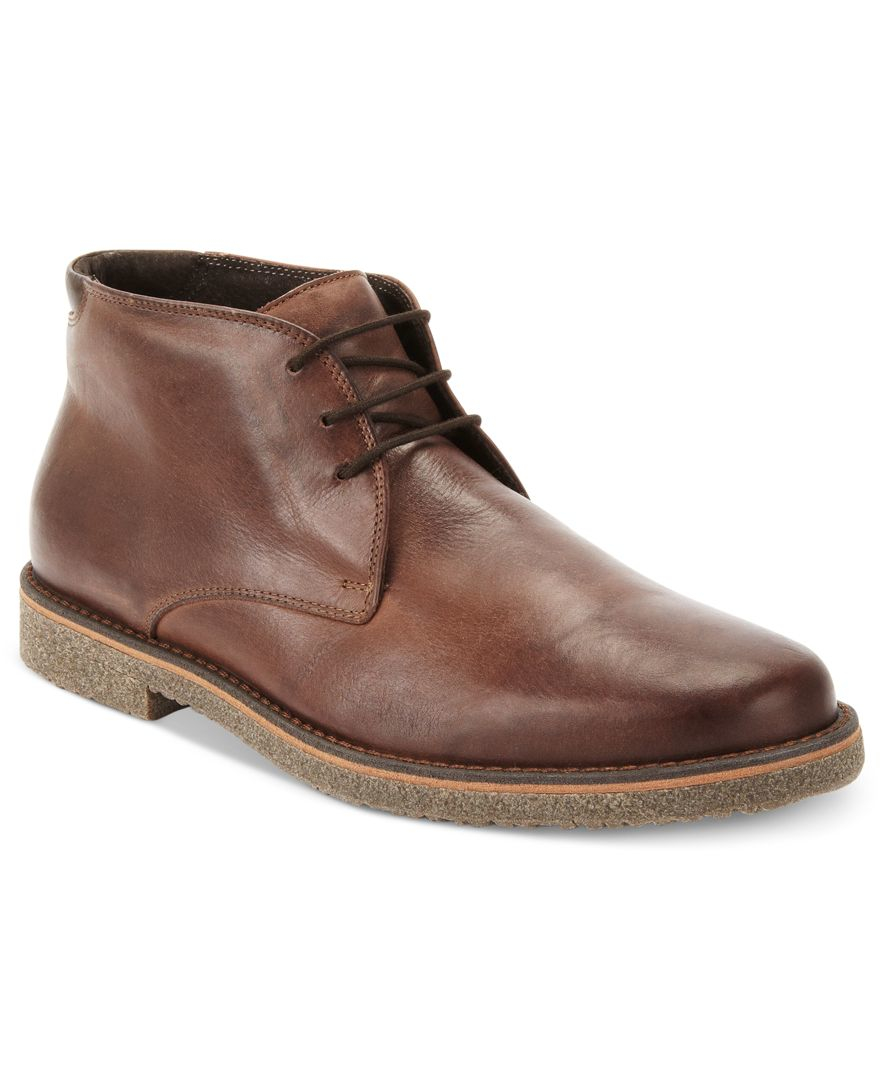 alfani s lancer leather chukka boots only at macy s