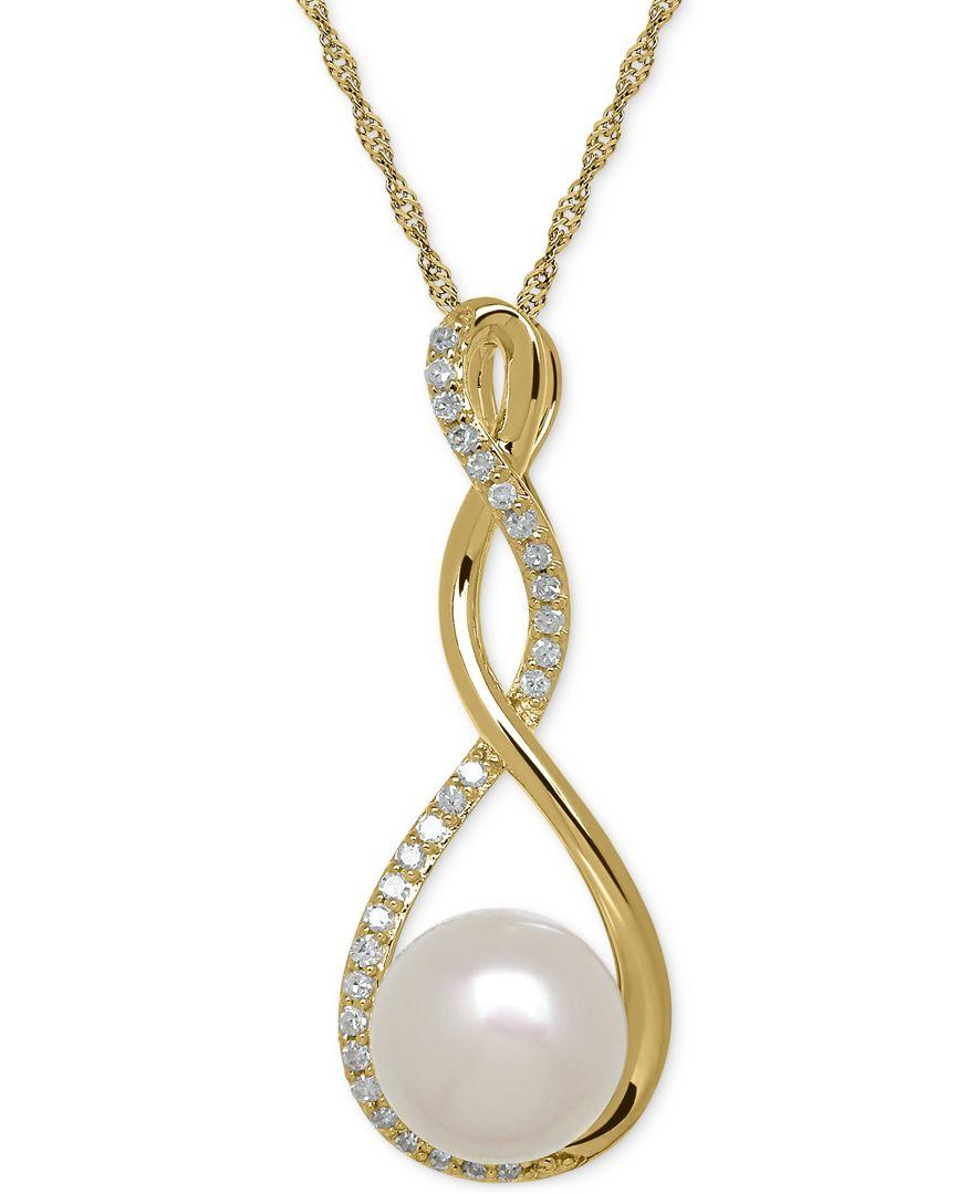 macy s birthstone and 1 10 ct t w pendant