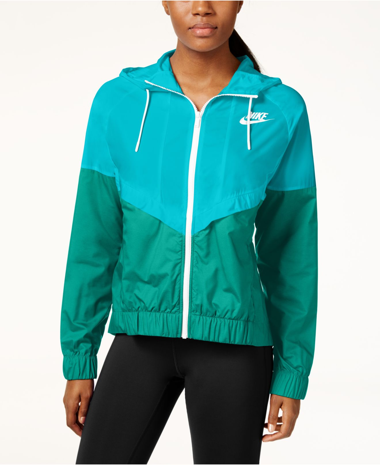 43e58872fd14 Lyst - Nike Wind Runner Colorblocked Jacket in Blue