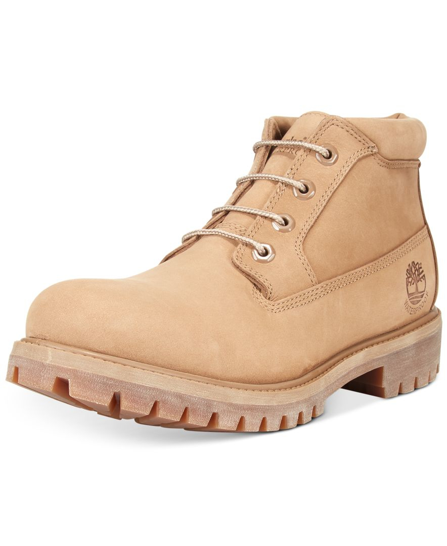 6a76b5114fbcd Lyst - Timberland Men s Nelson Chukka Boots in Natural for Men