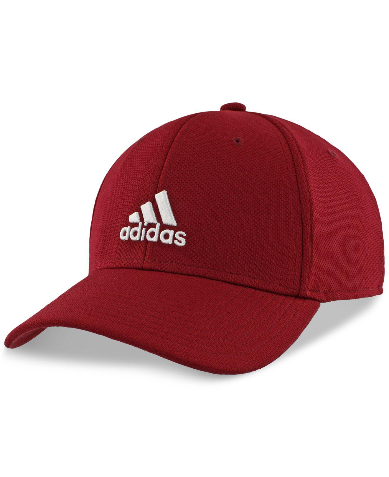 Lyst - adidas Rucker Climalite® Stretch Cap in Red for Men e4bedbabe04
