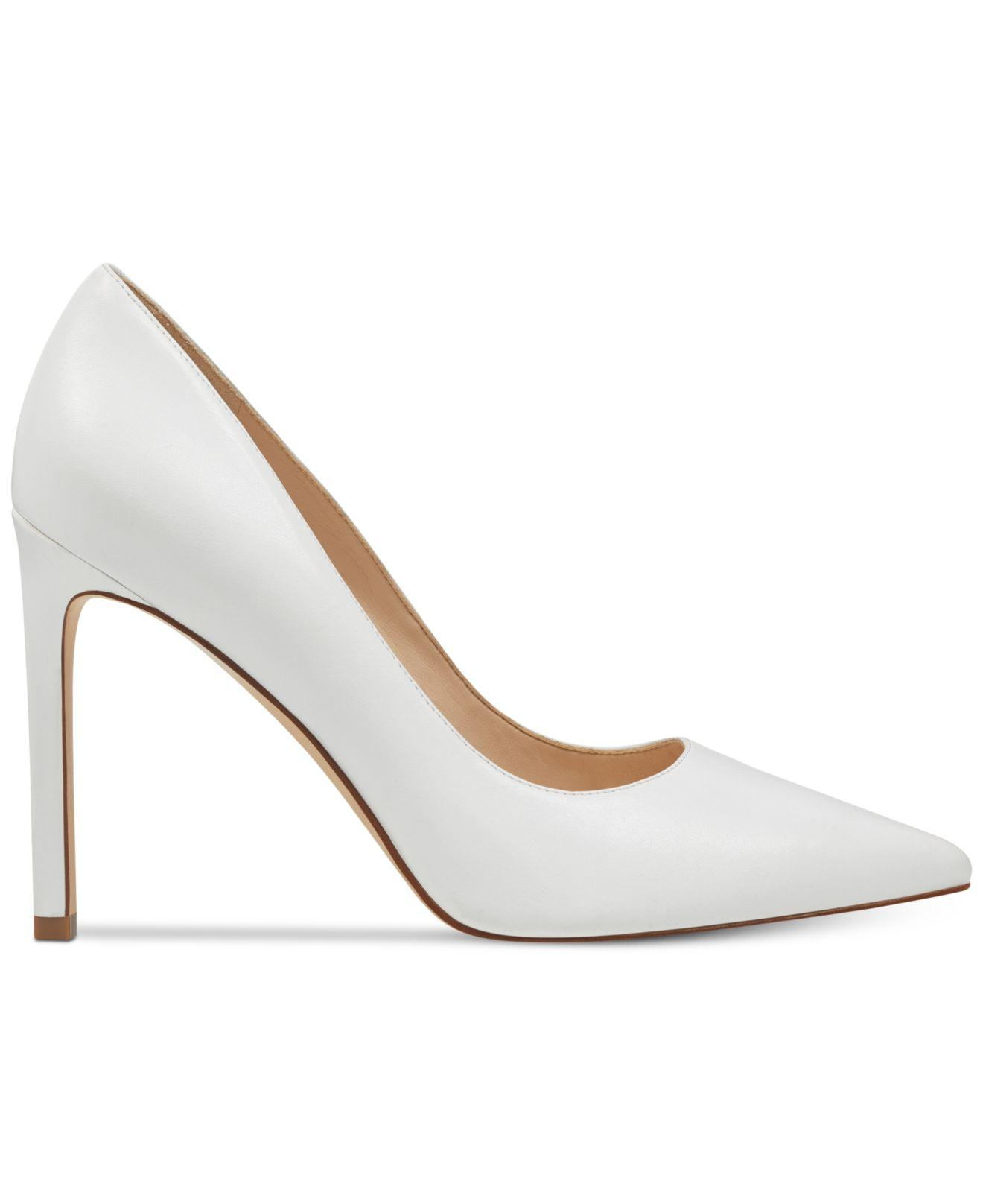 d1ad545f07c3 Lyst - Nine West Tatiana Pumps in White - Save 50.63291139240506%