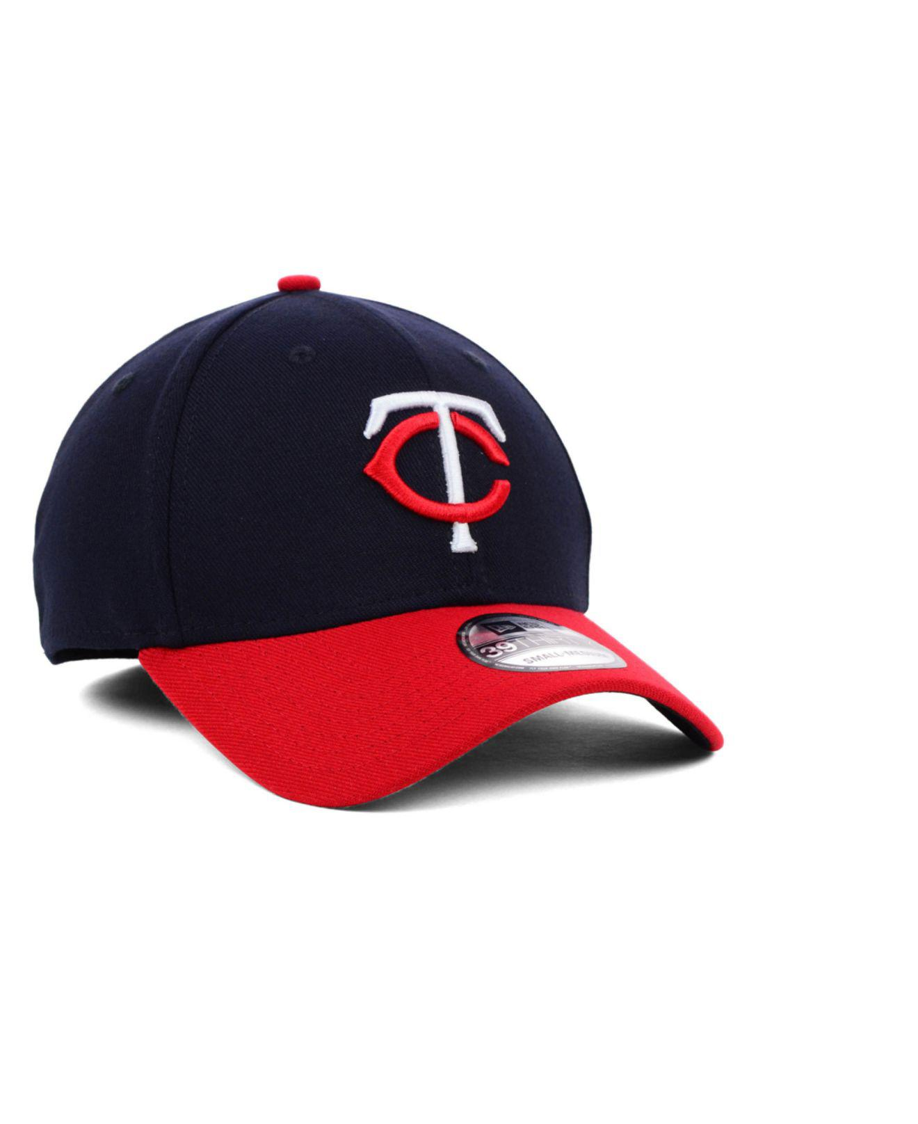 best service 75fea 4ad36 ... coupon for inexpensive minnesota twins mlb team classic 39thirty cap  for men lyst. view fullscreen